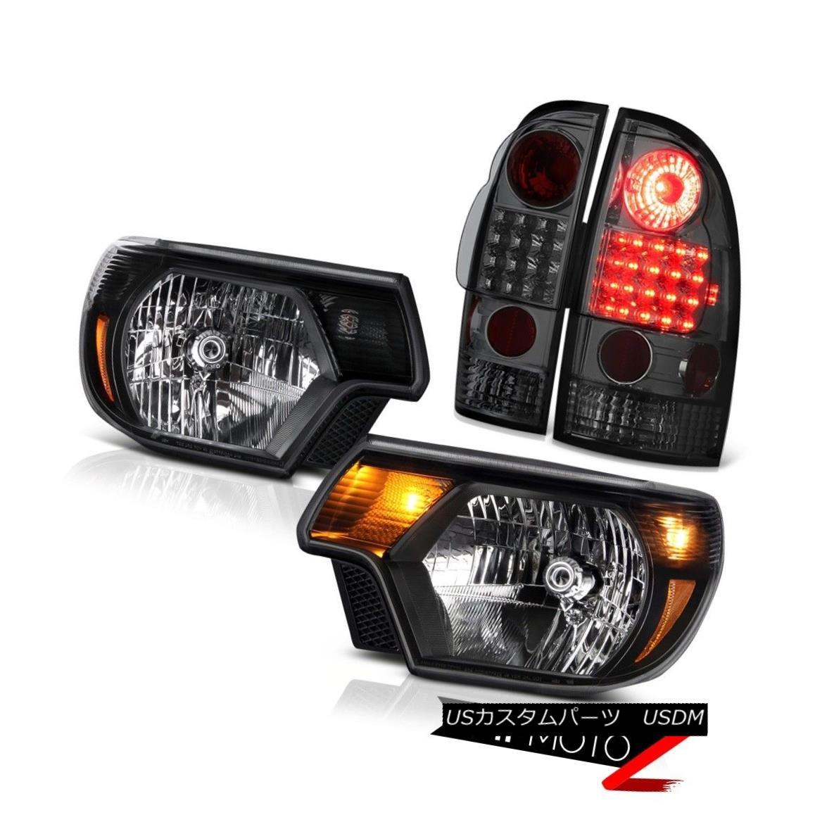 テールライト 12 13 14 15 Toyota Tacoma PreRunner Headlamps smokey taillights SMD Replacement 12 13 14 15トヨタタコマPreRunnerヘッドランプスモーキーテールライトSMDの交換