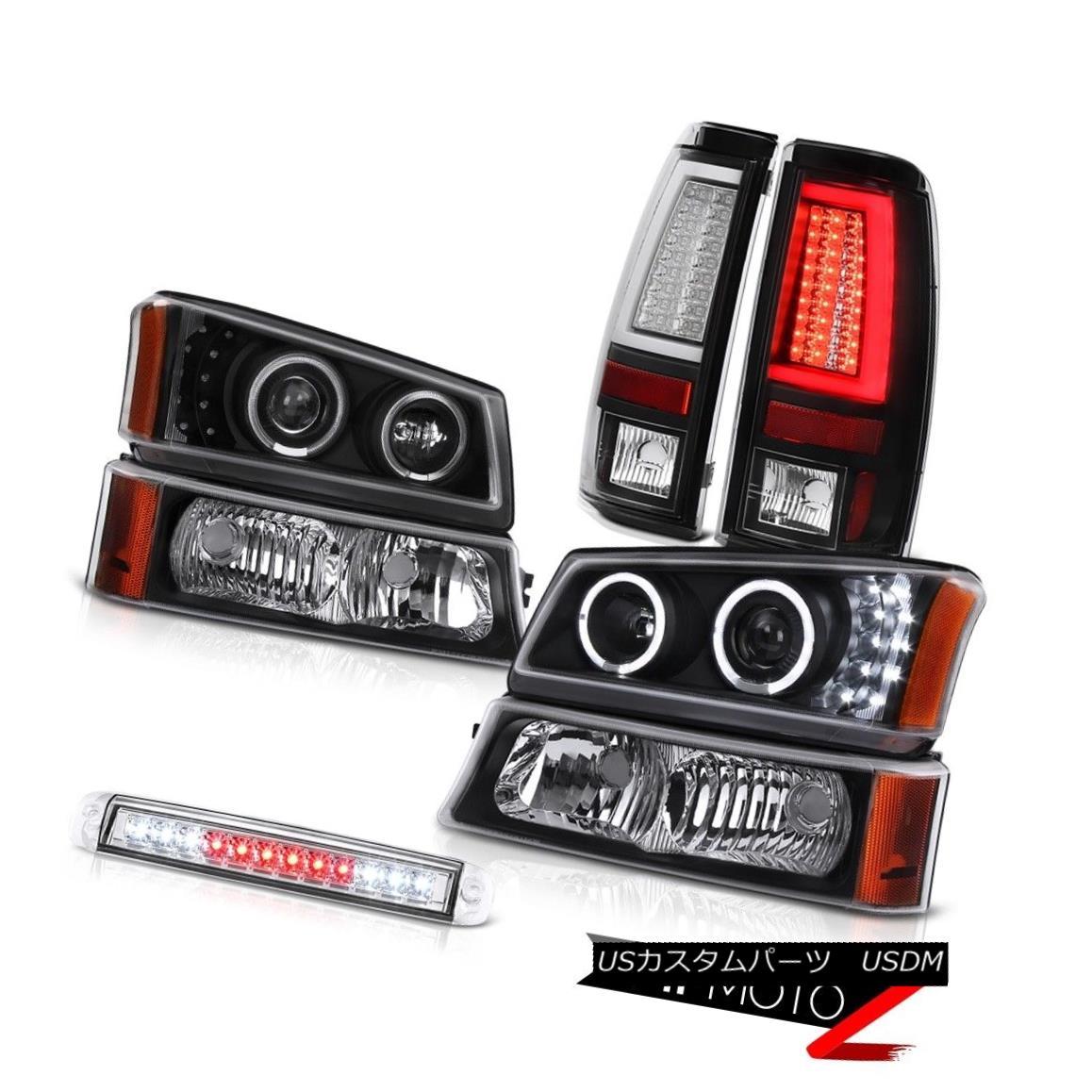 テールライト 03-06 Chevy Silverado Parking Brake Lights Roof Light Light Headlights Tron Tube 03-06 Chevy SilveradoパーキングブレーキライトルーフライトヘッドライトTron Tube