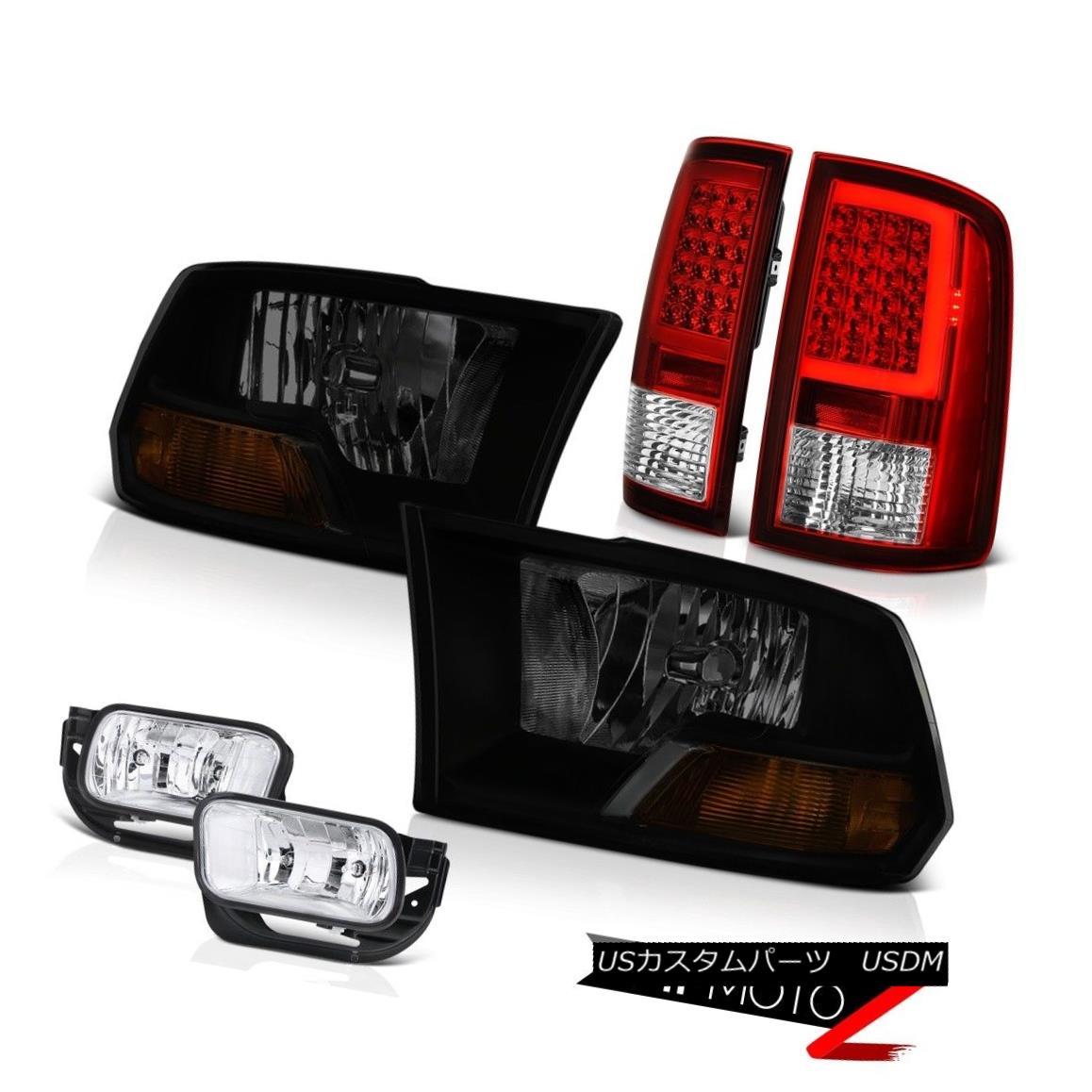 テールライト 2010-2018 Dodge RAM 2500 Tail Light Chrome Fog Lights Factory Style Headlight 2010-2018 Dodge RAM 2500テールライトクロームフォグライト工場スタイルヘッドライト