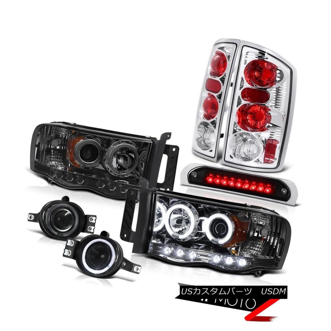 テールライト CCFL Fluorescence Headlights Projector Bumper Fog Brake LED 2002-2005 Ram SRT-10 CCFL蛍光ヘッドライトプロジェクターバンパーフォグブレーキLED 2002-2005 Ram SRT-10