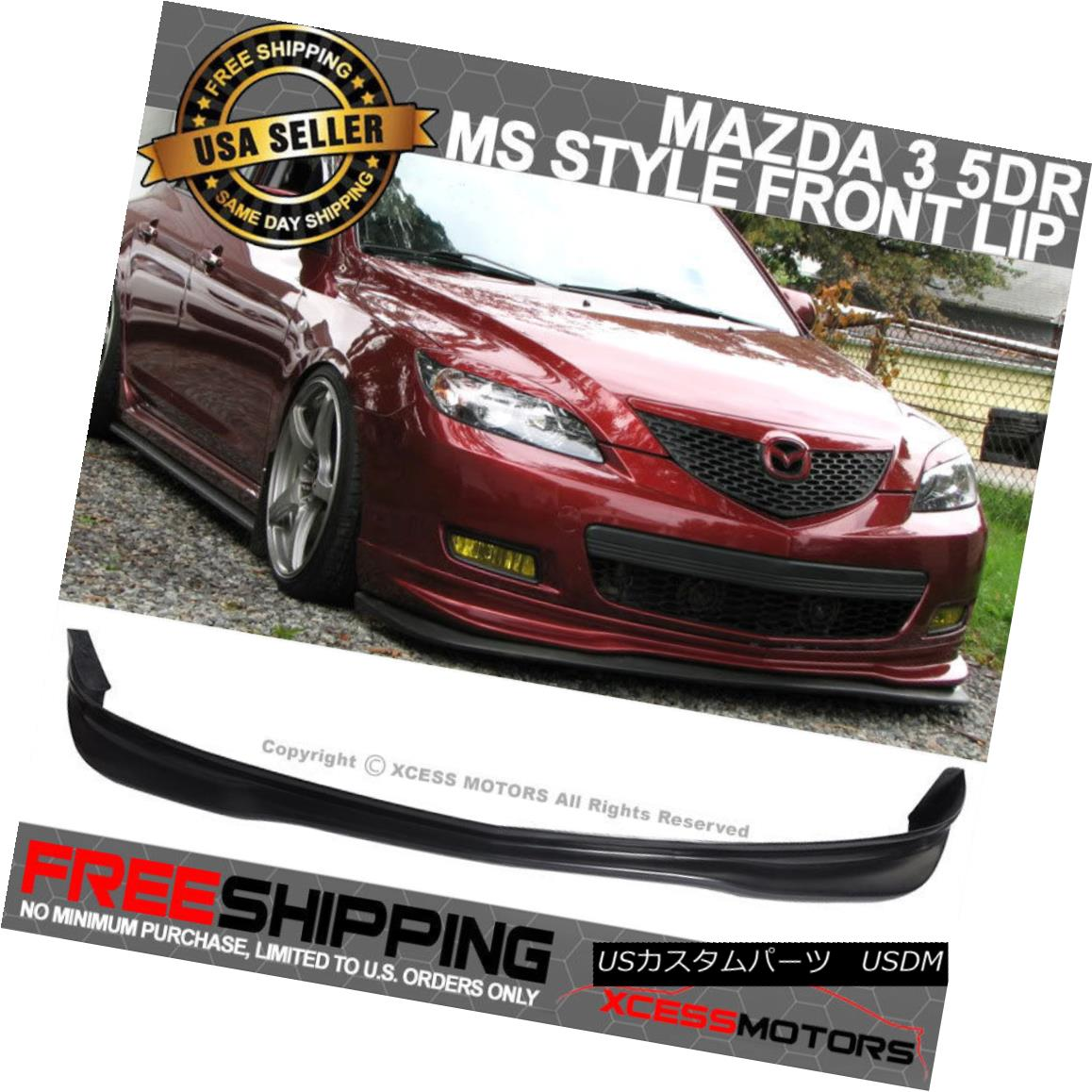 fit US-Spec Front Bumper Only 05 06 07 Legacy JDM Style Front Lip Urethane