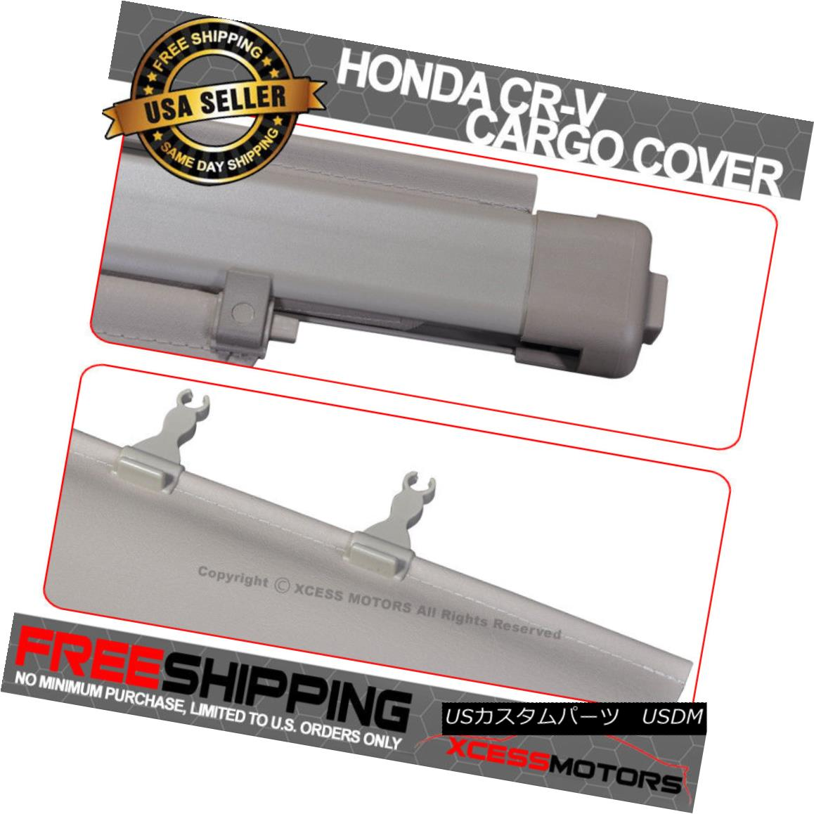 07-11 Honda CRV OE FACTORY Sty Retractable Rear Cargo Security Trunk Cover Black