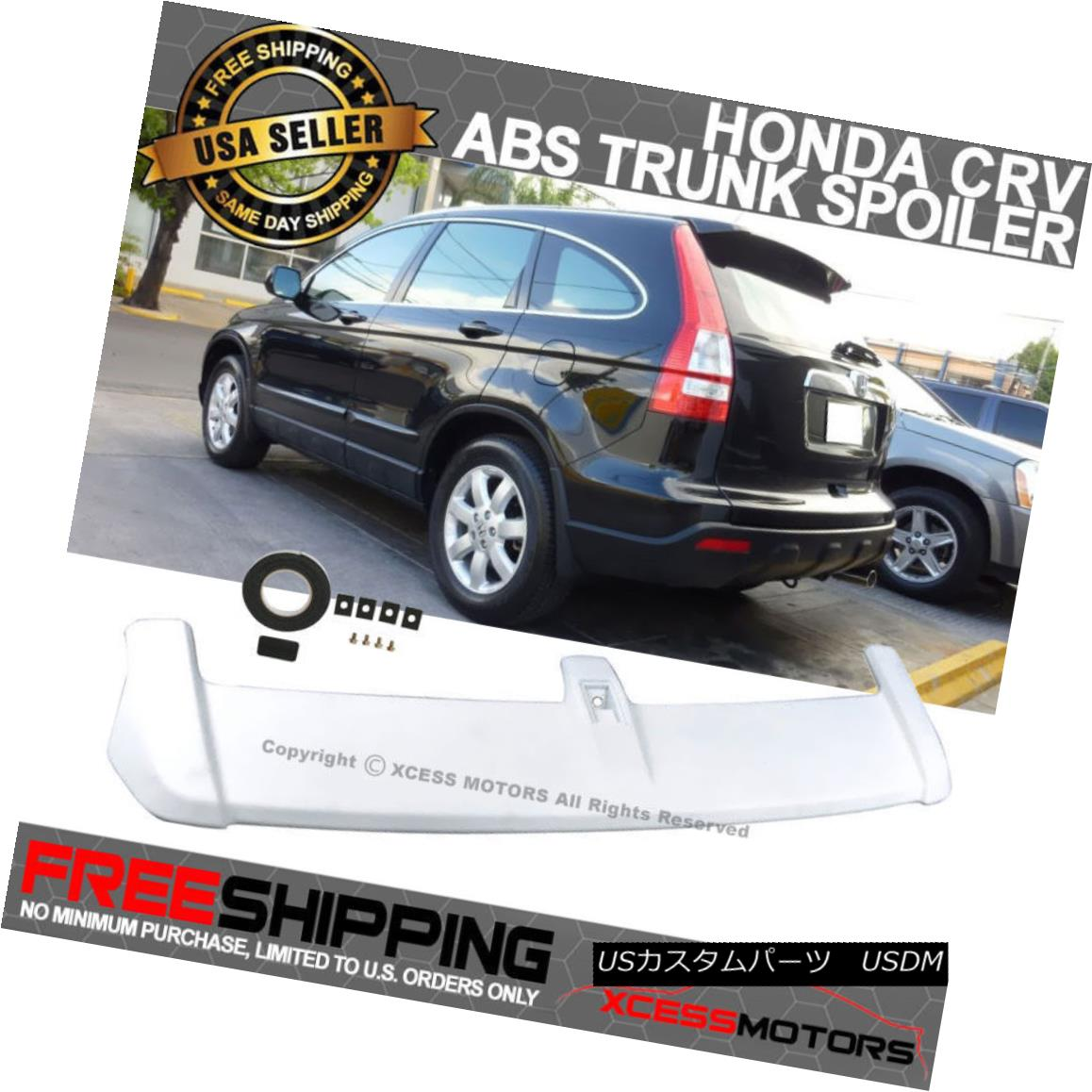 07-11 Honda CRV OE Factory Style Liftgate Roof Top Hatchback Trunk Wing Spoiler