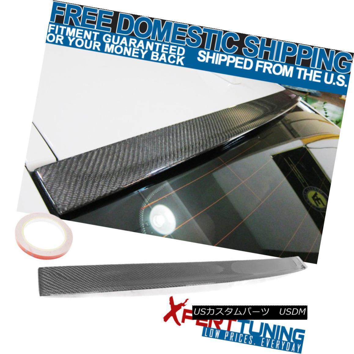 エアロパーツ FIT 11-16 BMW 5 Series F10 3D Design Stylish Roof Spoiler Carbon Fiber Cf FIT 11-16 BMW 5シリーズF10 3DデザインスタイリッシュなルーフスポイラーカーボンファイバーCf