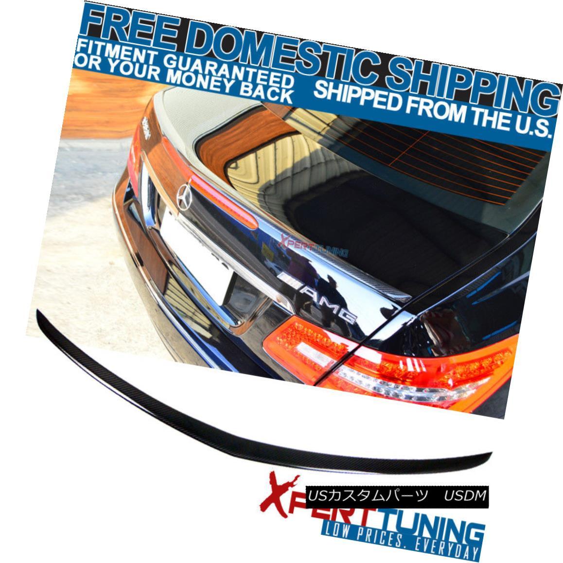 エアロパーツ 10-17 W207 C207 E-Class 2Dr Coupe AMG Style Trunk Spoiler - CF Carbon Fiber 10-17 W207 C207 Eクラス2DrクーペAMGスタイルトランク・スポイラー - CF炭素繊維