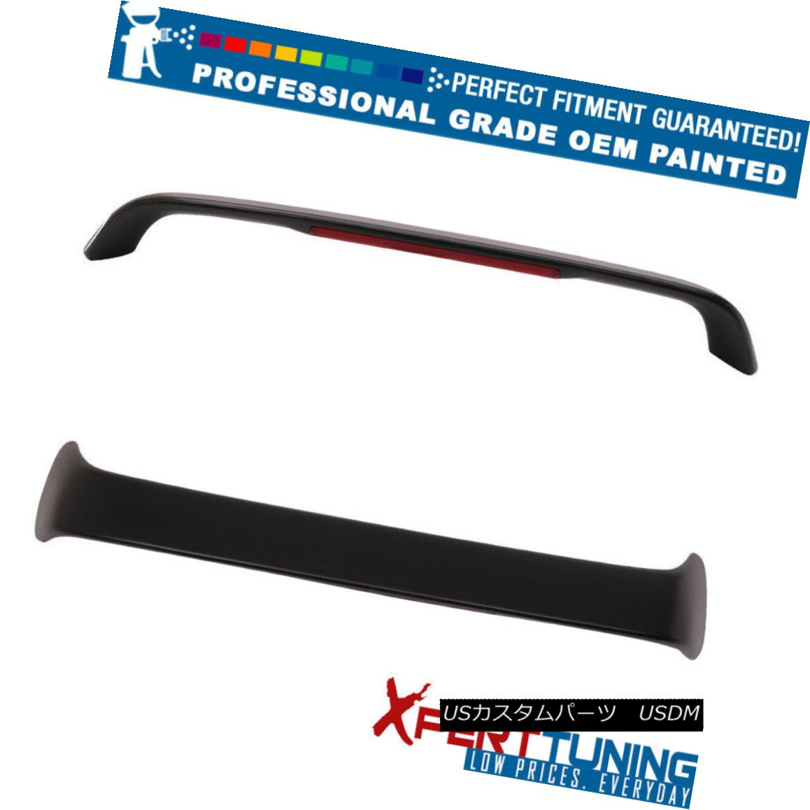 エアロパーツ Fits 94-01 Acura Integra Type R with LED Trunk Spoiler - OEM Painted Color 94-01 Acura IntegraタイプR、LEDトランク・スポイラー - OEM塗装カラー