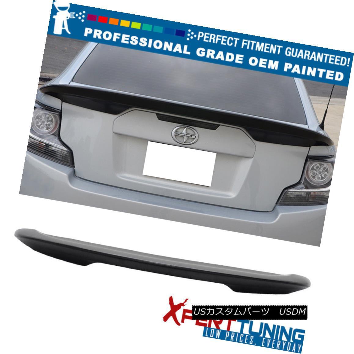 エアロパーツ 11-16 Scion tC OE Factory Style Painted ABS Trunk Spoiler - OEM Painted Color 11-16サイオンtC OEファクトリースタイル塗装ABSトランクスポイラー - OEM塗装カラー