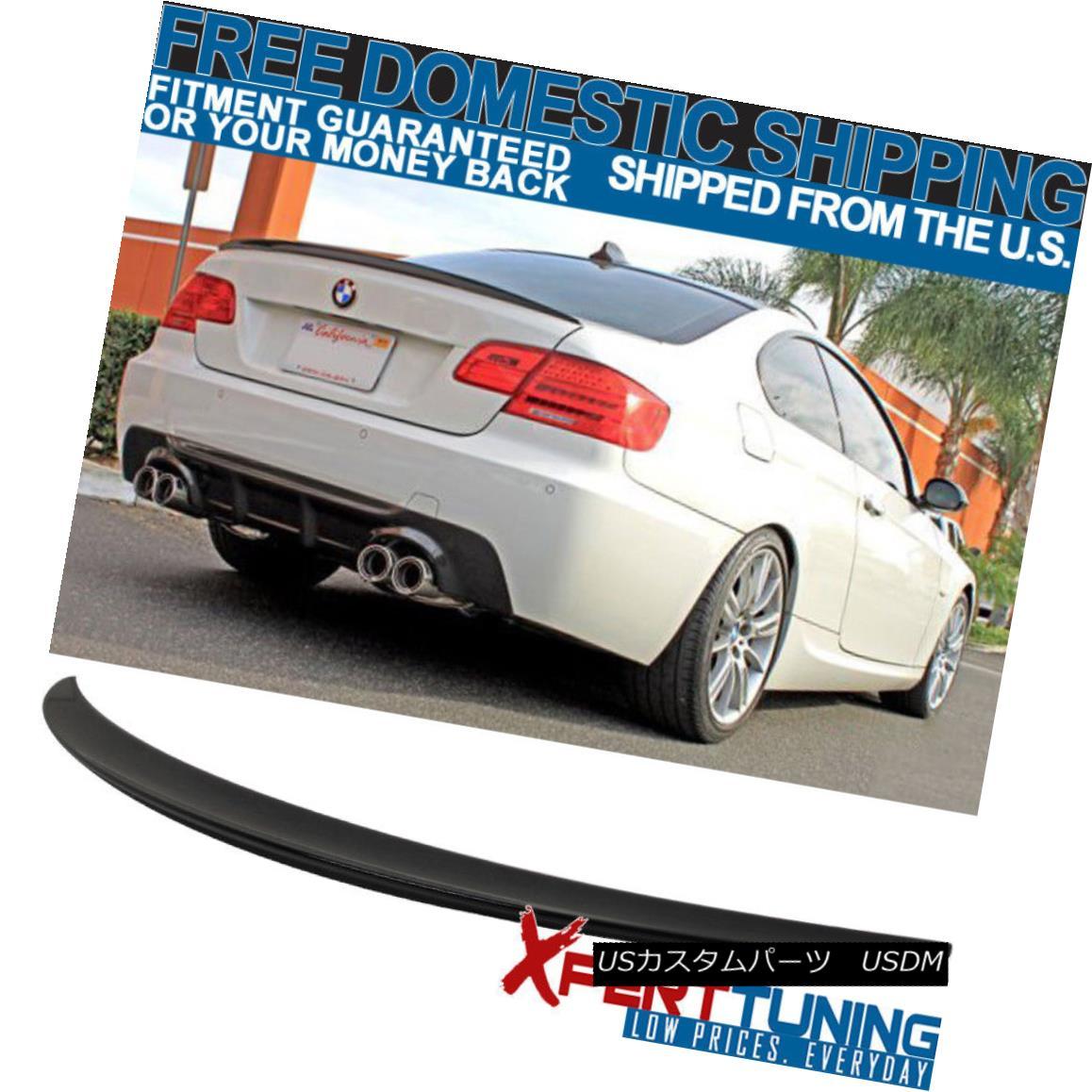 エアロパーツ 07-13 BMW 3-Series E93 Painted # 475 Black Sapphire Metallic Rear Trunk Spoiler 07-13 BMW 3シリーズE93塗装済み#475ブラックサファイアメタリックリアトランクスポイラー