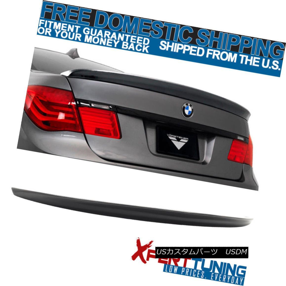 エアロパーツ 09-15 BMW 7 Series F01 AC Style Unpainted Trunk Spoiler - ABS 09-15 BMW 7シリーズF01 ACスタイル無塗装トランク・スポイラー - ABS