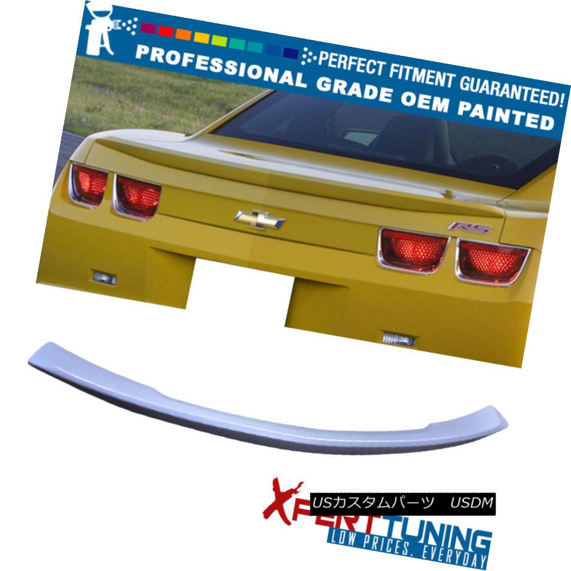エアロパーツ Fit 10-13 Camaro OEM Factory Style Painted Trunk Spoiler OEM Painted Color フィット10?13カマロOEM工場スタイル塗装トランクスポイラーOEM塗装色