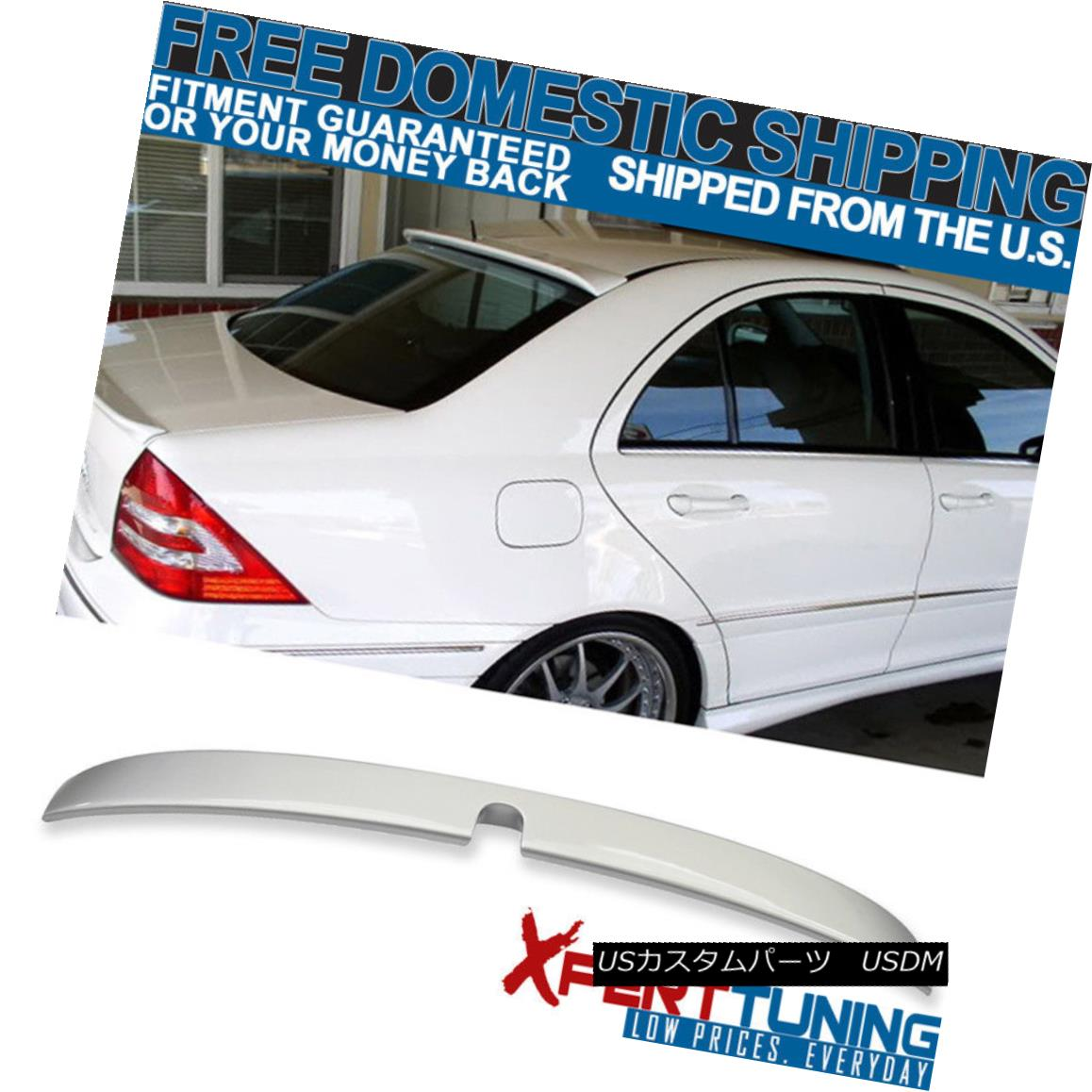 COMBO MERCEDES BENZW203 L ROOF CARSON BOOT TRUNK SPOILER WING 07 C320 C240