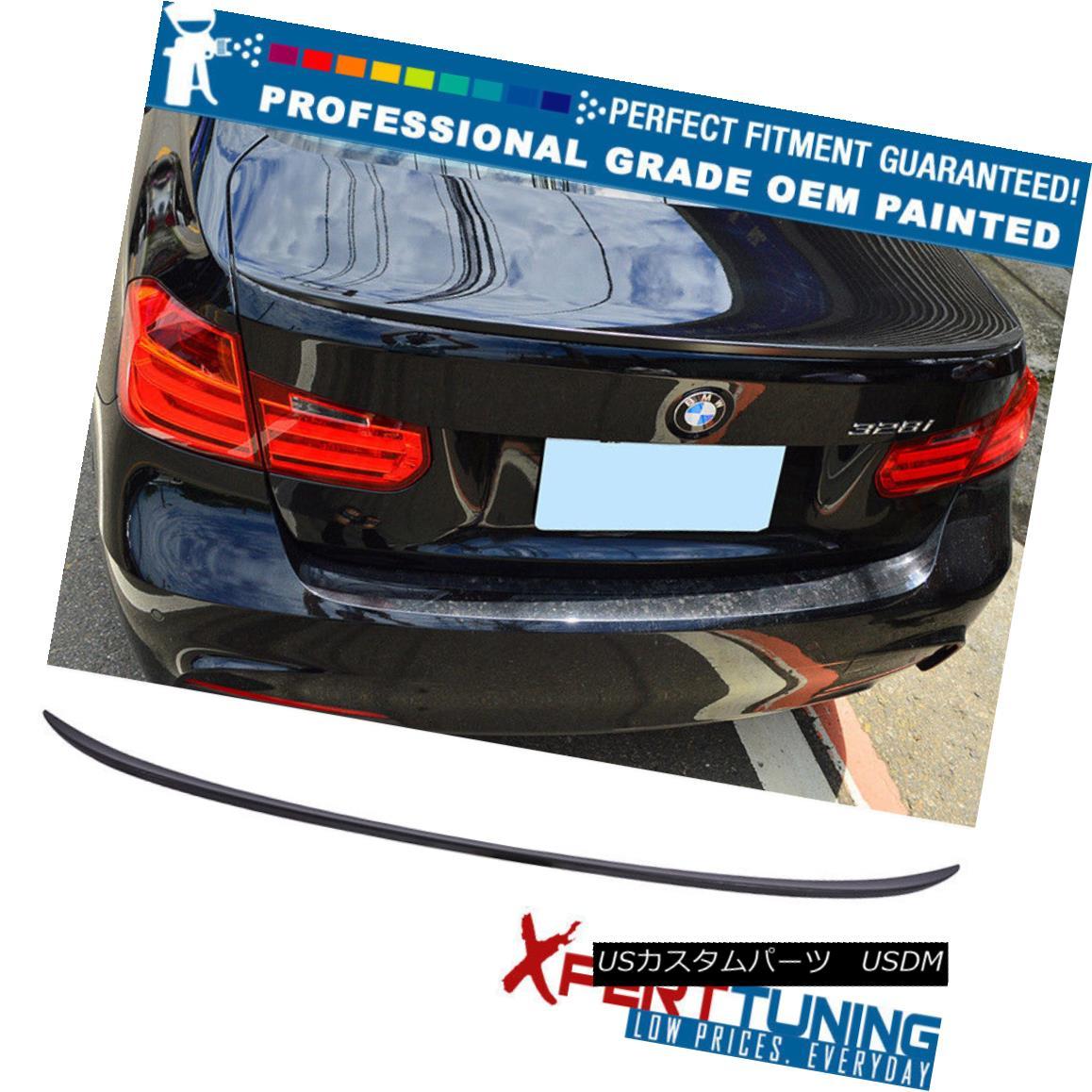 エアロパーツ 14-17 F80 M3 4Dr OEM Painted Color Performance Painted Trunk Spoiler - ABS 14-17 F80 M3 4Dr OEM塗装カラーパフォーマンス塗装トランクスポイラー - ABS
