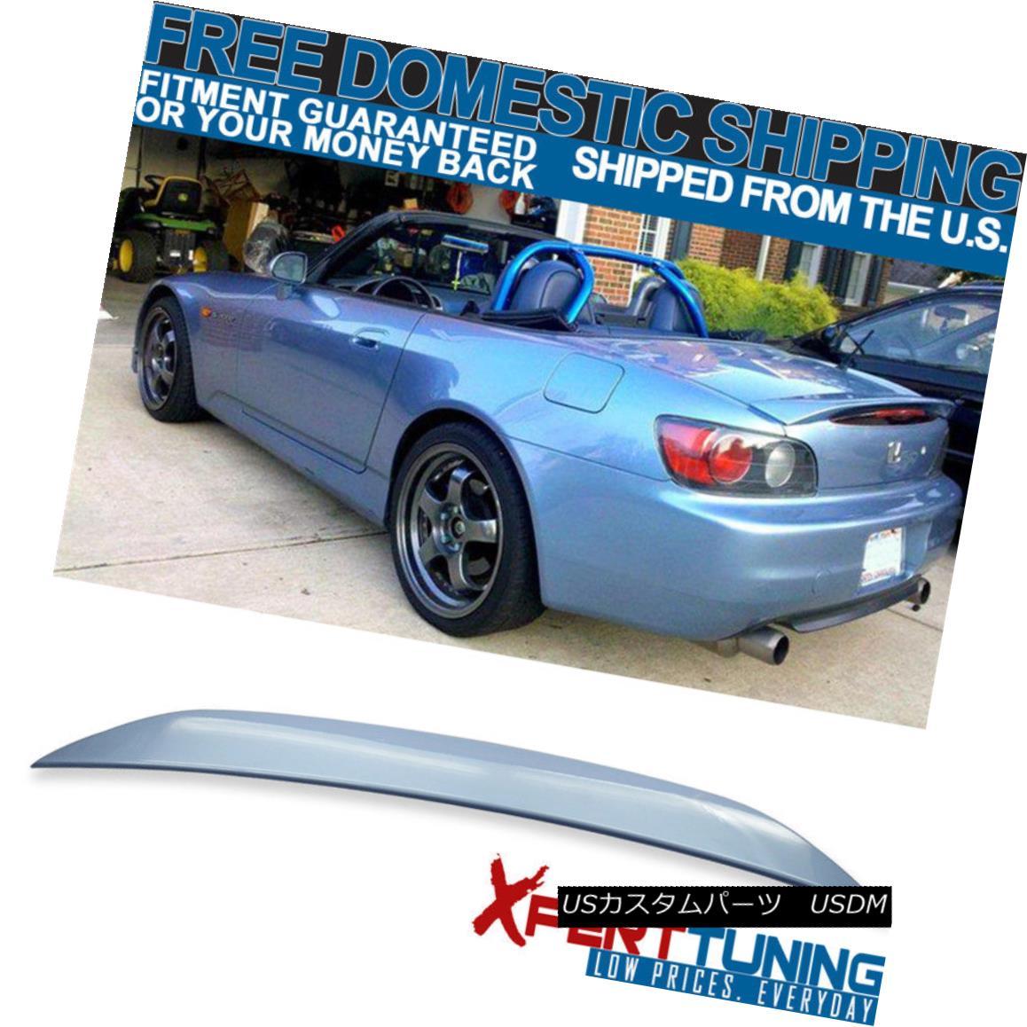 エアロパーツ 00-09 S2000 AP1 AP2 Painted #B513M Suzuka Blue Metallic Trunk Spoiler - ABS 00-09 S2000 AP1塗装#B513M鈴鹿ブルーメタリックトランクスポイラー - ABS