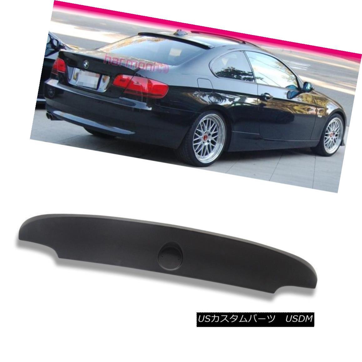 エアロパーツ Fits 07-13 BMW 3-Series E92 Coupe CSL Style Rear Trunk Spoiler Wing ABS フィット07?13 BMW 3シリーズE92クーペCSLスタイルリアトランクスポイラーウィングABS