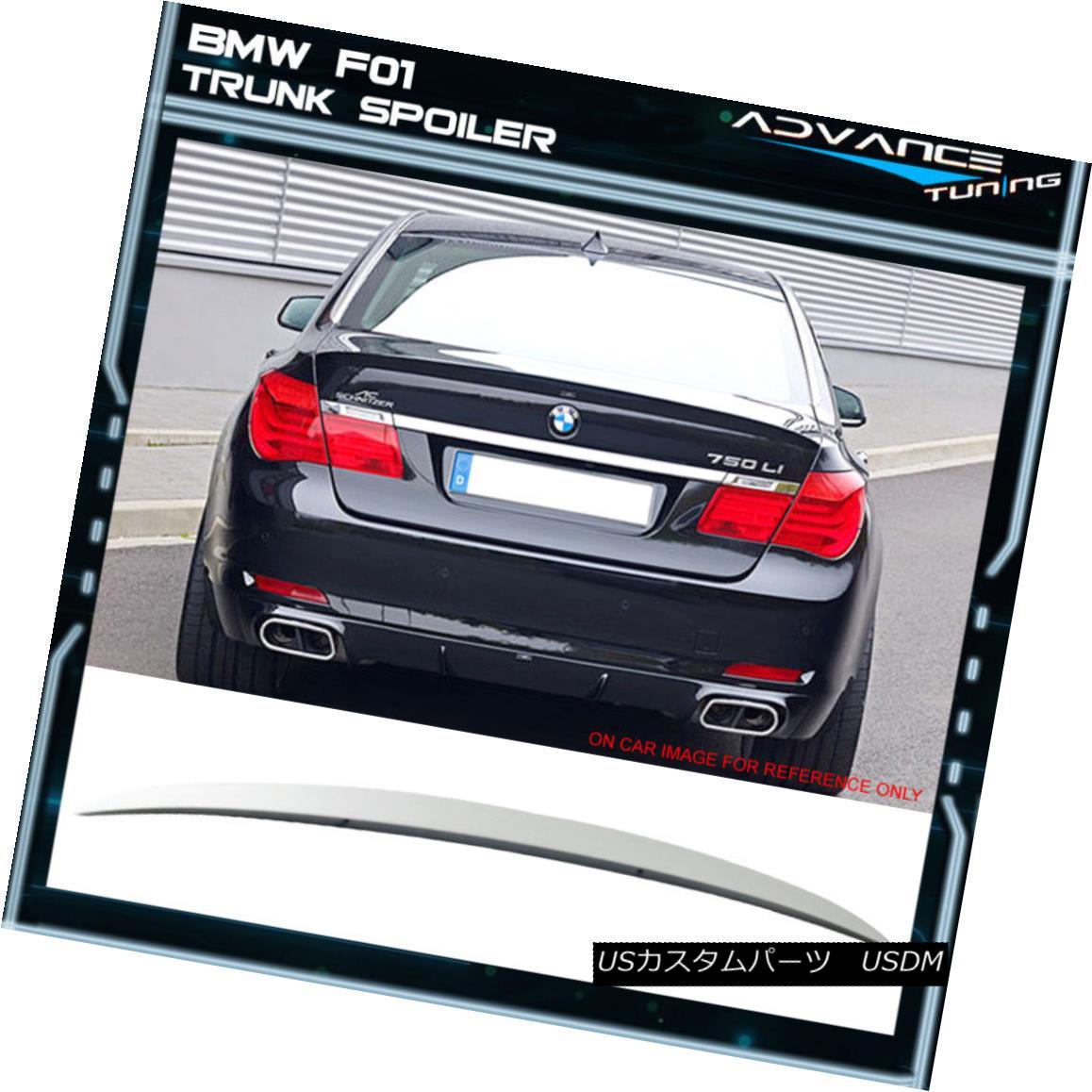 エアロパーツ 09-15 BMW F01 7 Series AC Style Painted #300 Alpine White III Trunk Spoiler ABS 09-15 BMW F01 7シリーズAC塗装#300アルパインホワイトIIIトランクスポイラーABS