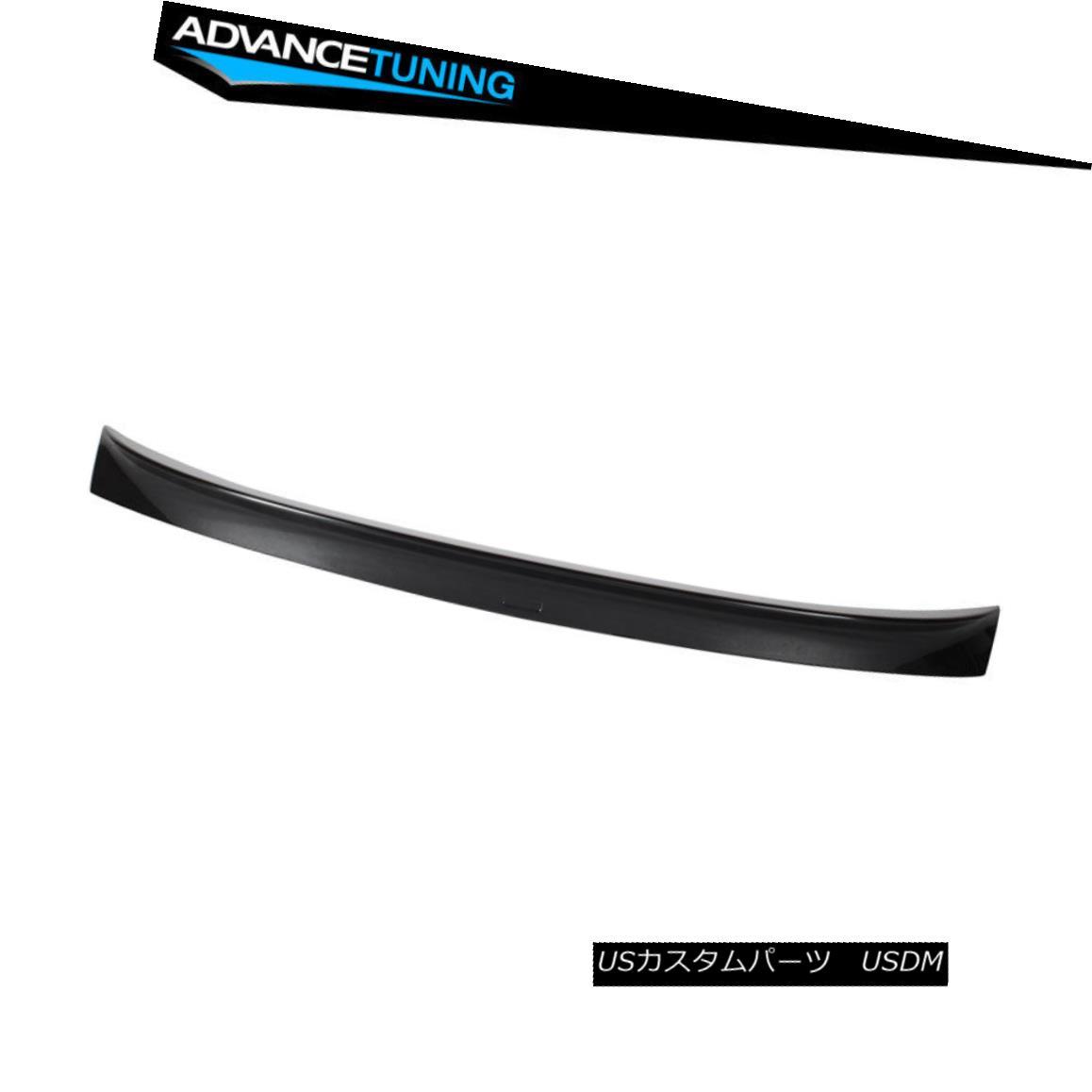 エアロパーツ Fits 11-16 5 Series F10 AC Trunk Spoiler OEM Painted #A90 Dark Graphite Metallic フィット11-16 5シリーズF10 ACトランクスポイラーOEM塗装#A90ダークグラファイトメタリック
