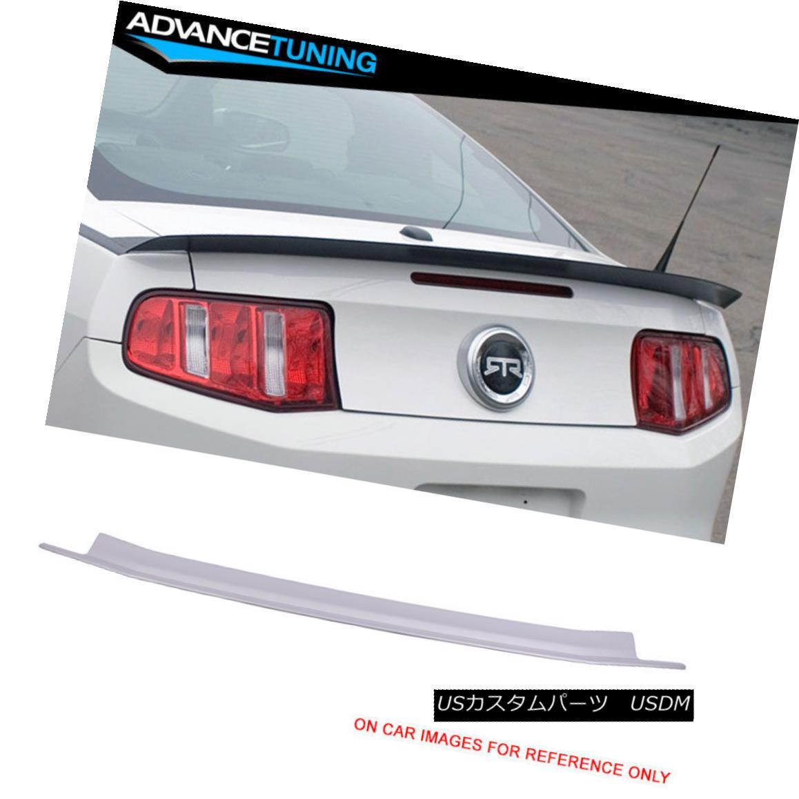 エアロパーツ 10-14 Mustang OEM Painted Color Ingot Silver Metallic #UX Trunk Spoiler 10-14ムスタングOEM塗装カラーインゴットシルバーメタリック#UXトランク・スポイラー