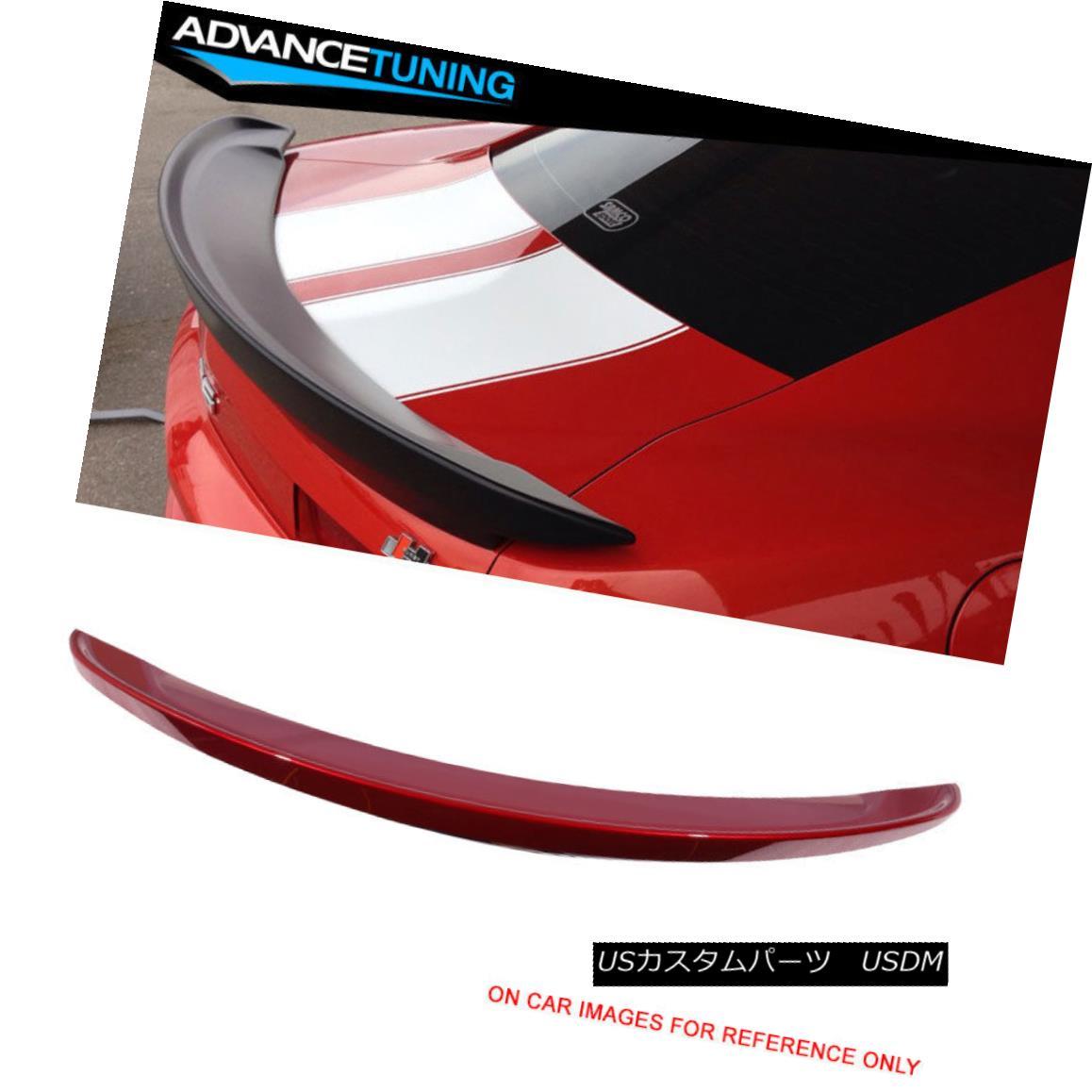 エアロパーツ Fits 14 15 Camaro Z28 Trunk Spoiler OEM Painted #WA505Q Crystal Claret Tintcoat フィット14 15カマロZ28トランク・スポイラーOEM塗装#WA505Qクリスタルクラレットティントコート