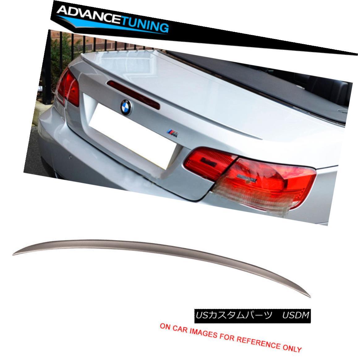 エアロパーツ Fits 07-13 E93 M3 Trunk Spoiler OEM Painted #A53 Platinum Bronze Metallic フィット07-13 E93 M3トランクスポイラーOEM塗装#A53プラチナブロンズメタリック