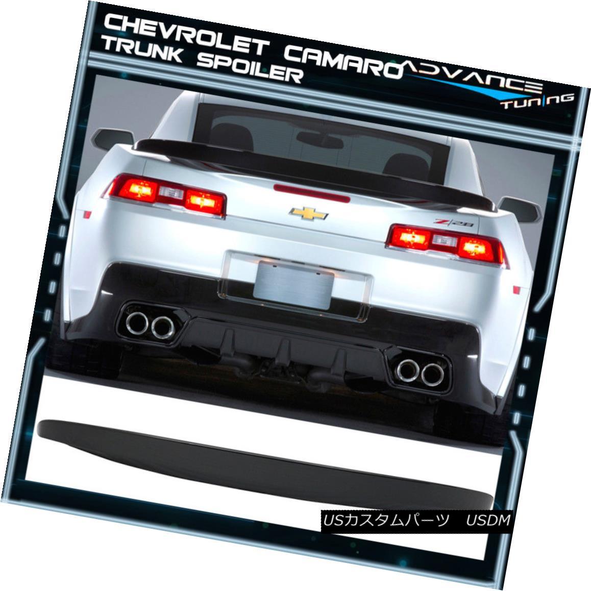 エアロパーツ 14-15 Chevrolet Camaro OE Trunk Spoiler Painted #WA810T Ashen Gray Metallic 14-15シボレー・カマロOEトランク・スポイラー#WA810Tアッシュ・グレー・メタリック