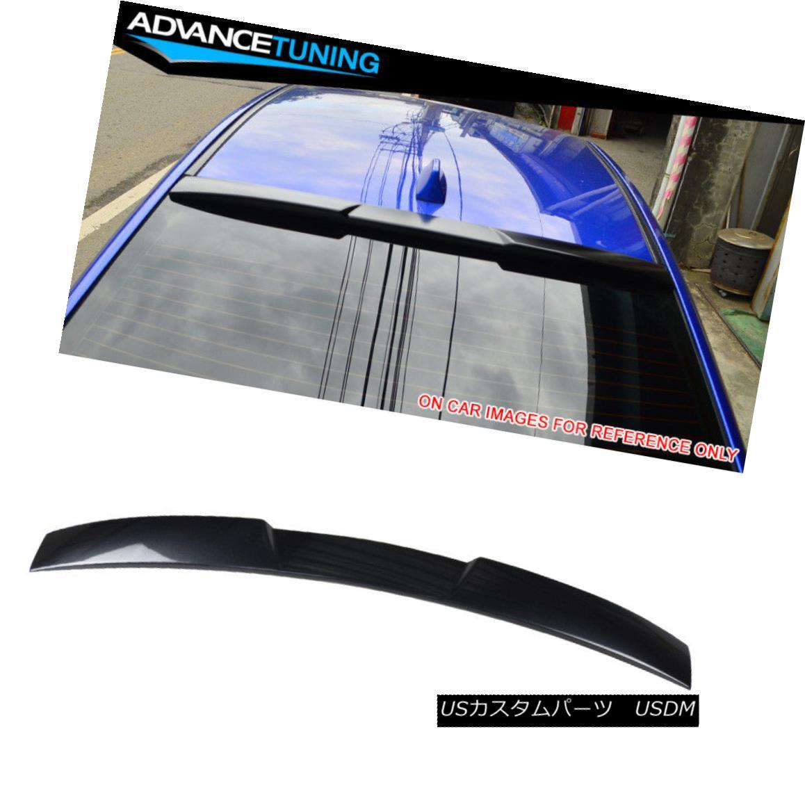 エアロパーツ Fits 15-18 Impreza WRX STI V Roof Spoiler OEM Painted #61K Dark Gray Metallic フィット15-18インプレッサWRX STI VルーフスポイラーOEM塗装#61Kダークグレーメタリック