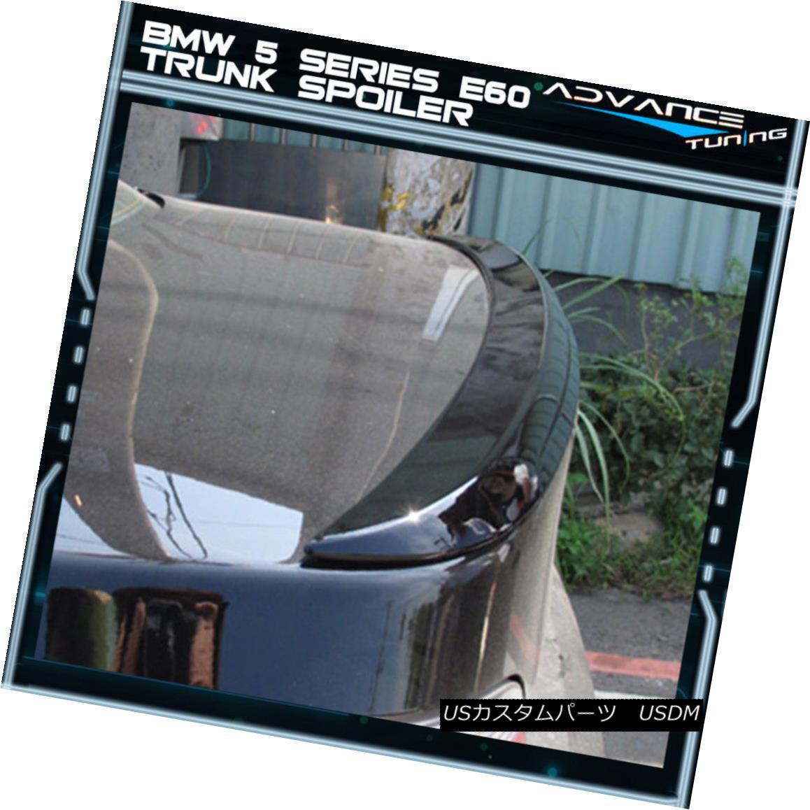 BMW E60 5-Series 4D M5 Model Rear Diffuser Bumper Body Kit 2010 FRP ○