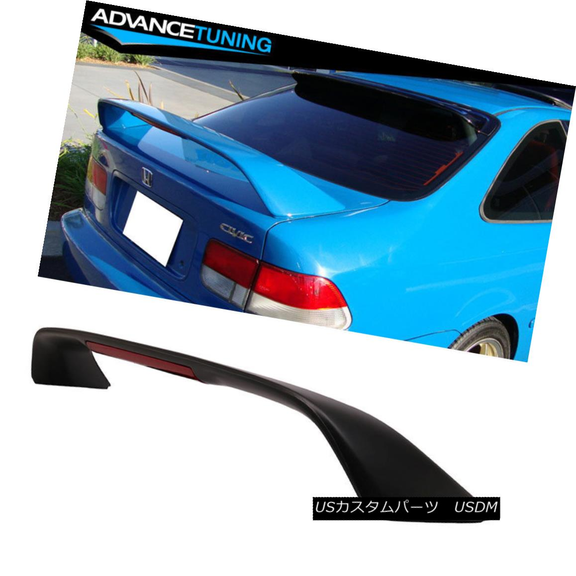 Unpainted FOR HONDA CIVIC 8th Performance TYPE Rear Trunk Spoiler Wing 2011