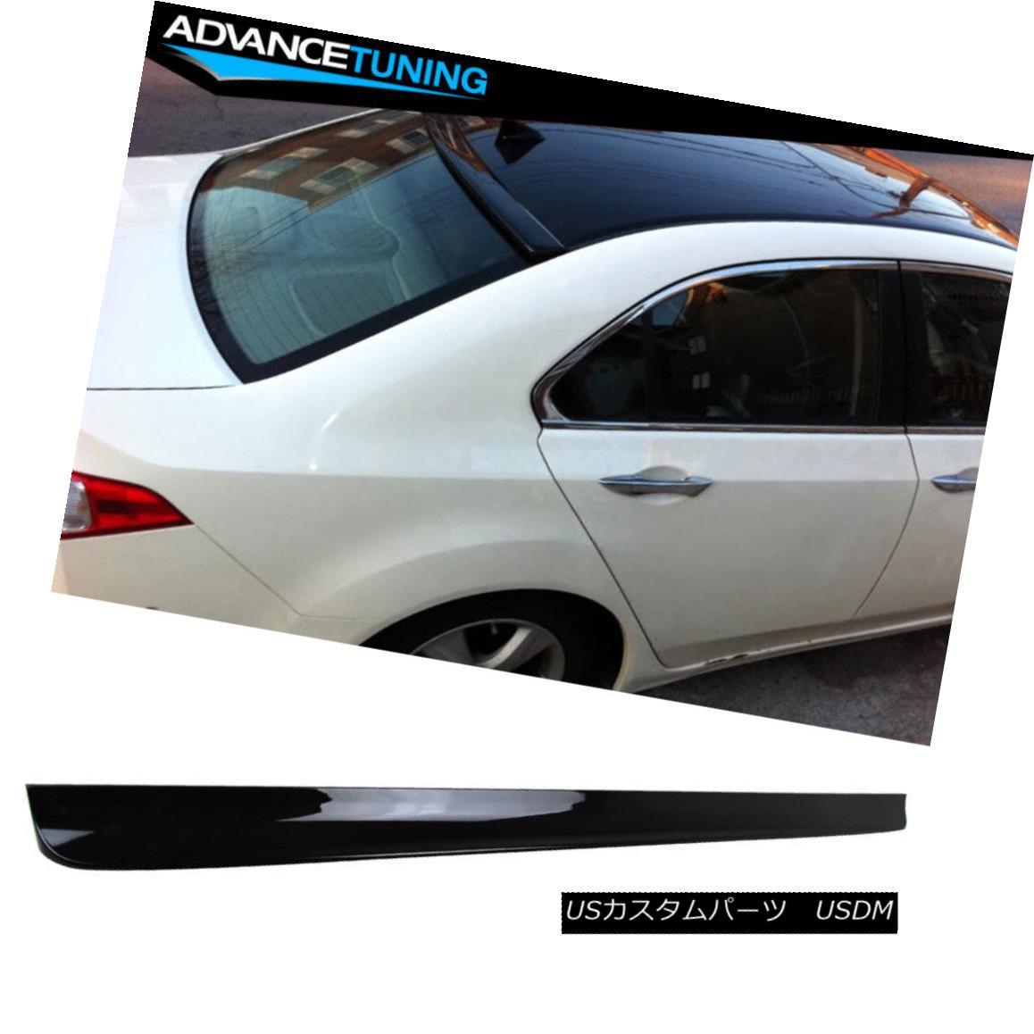 エアロパーツ Fits 09-14 Nissan 370Z 2DR Roof Spoiler OEM Painted Color # KH3 Super Black フィット09-14日産370Z 2DR屋根スポイラーOEM塗装カラー#KH3スーパーブラック