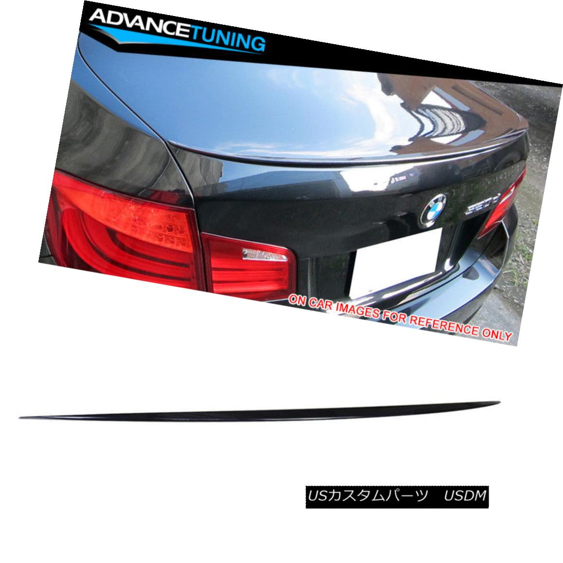エアロパーツ Fits 11-16 5-Series F10 M5 Trunk Spoiler OEM Painted #A89 Imperial Blue Pearl フィット11-16 5シリーズF10 M5トランク・スポイラーOEM塗装#A89インペリアル・ブルー・パール