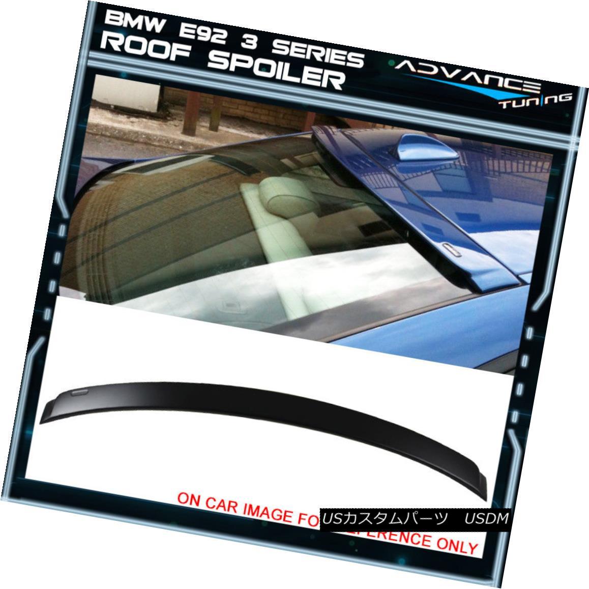 エアロパーツ 07-13 BMW 3 Series E92 Coupe 2Dr 2Door Unpainted ABS Rear AC Style Roof Spoiler 07-13 BMW 3シリーズE92クーペ2Dr 2アール未塗装ABSリアACスタイルルーフスポイラー