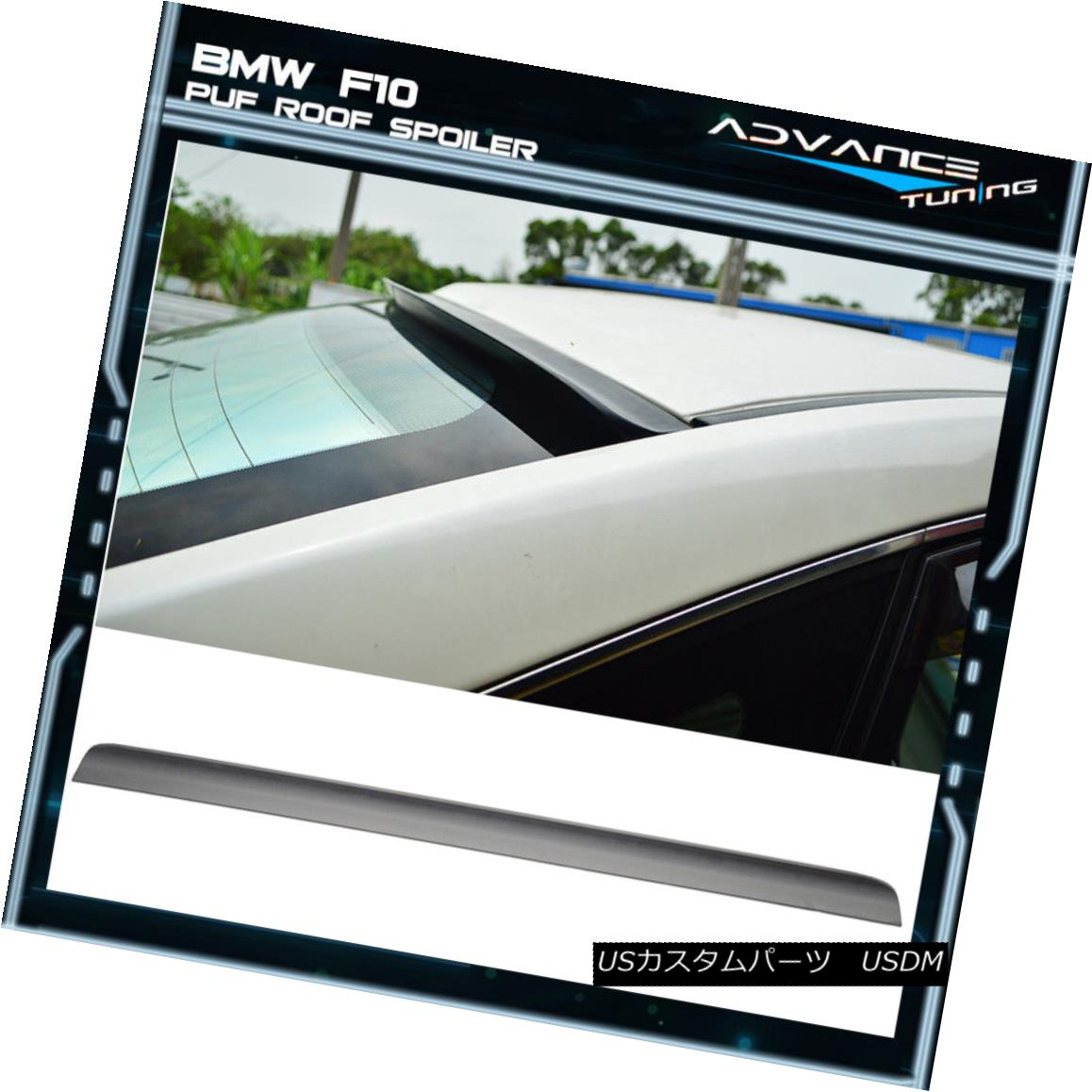 ABS Fits 11 12 13 14 15 16 BMW 5 Series F10 AC Style Unpainted Roof Spoiler