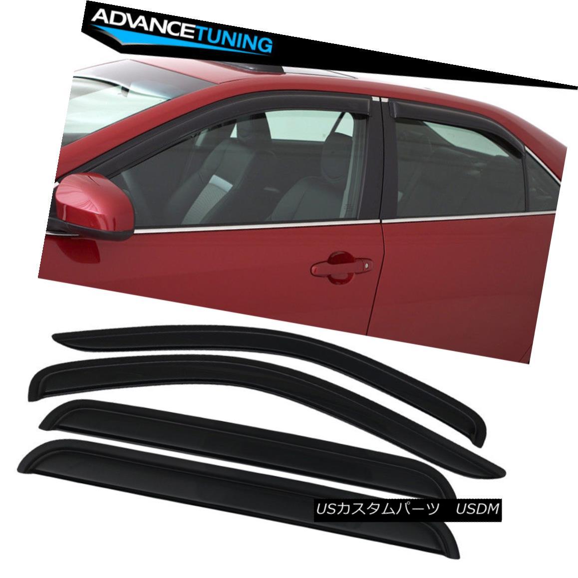 98-03 Visors 4Pc Dodge エアロパーツ 98-03 Durangoアクリルウインドウバイザー4Pcに適合 Dodge Fits Window Acrylic Durango