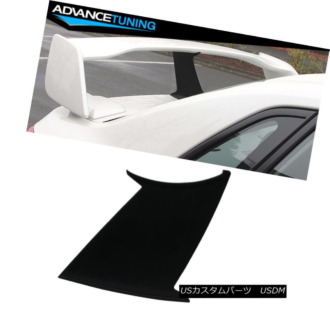 エアロパーツ 1PC Fit 08-14 WRX 08-11 Impreza STI ABS Trunk Spoiler Wing Stabilizer Add On 1PCフィット08-14 WRX 08-11インプレッサSTI ABSトランクスポイラーウィングスタビライザーアドオン