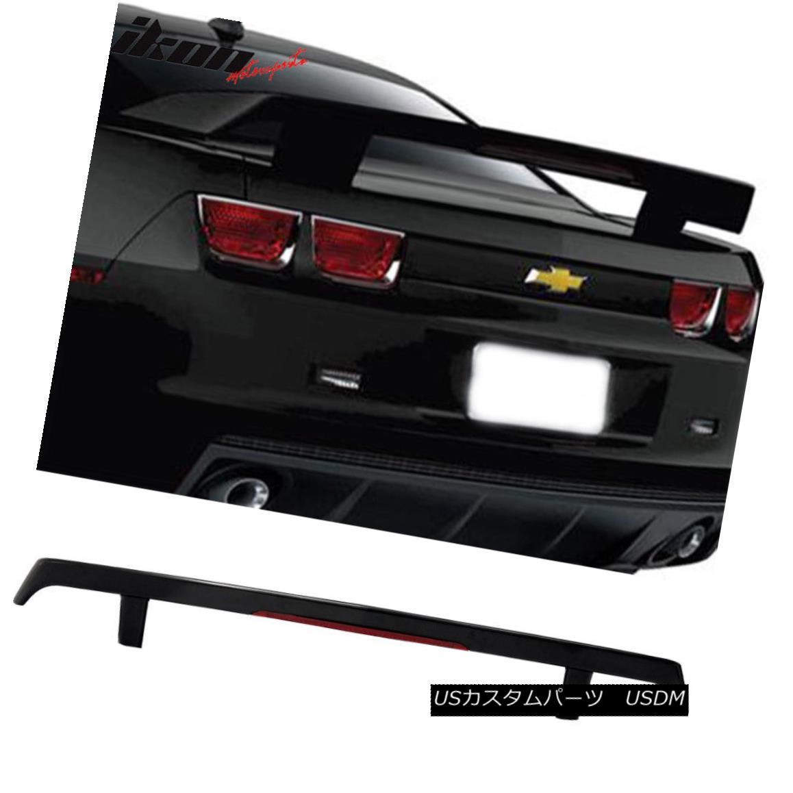 エアロパーツ 10-13 Chevy Camaro GM High Wing ABS Trunk Spoiler & LED 3rd Brake Light 10-13シボレーカマロGMハイウイングABSトランクスポイラー& LED第3ブレーキライト