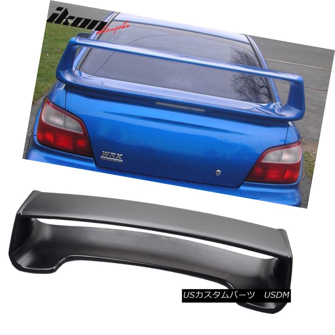 エアロパーツ Fit For 02-07 Subaru Impreza WRX Sti OE Trunk Spoiler Wing & 3RD Brake Light 02-07 Subaru Impreza WRX Sti OEトランク・スポイラー・ウィング& 3RDブレーキライト