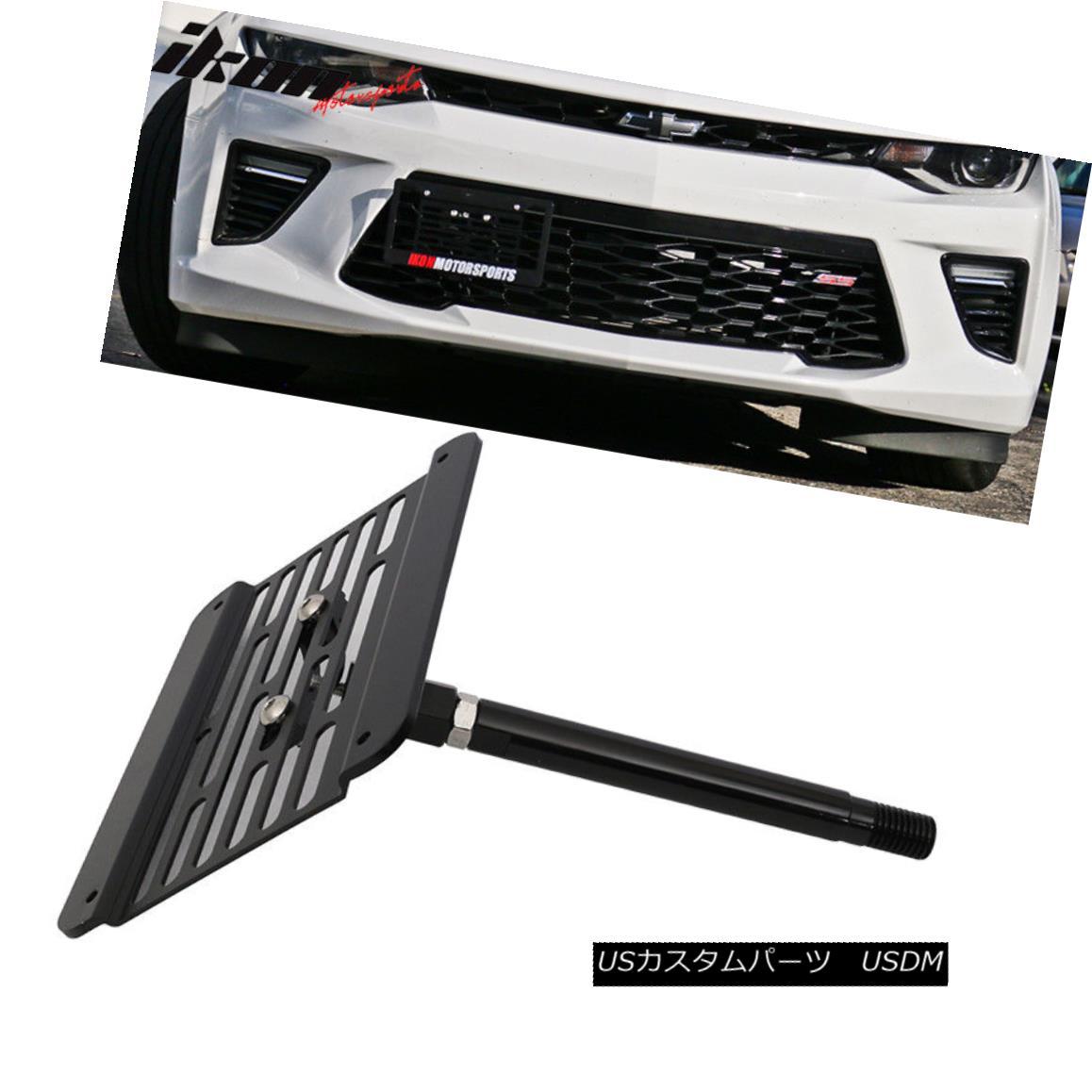 エアロパーツ Fits 16-17 Chevy Camaro Towhook Adapter for License Plate Relocation Kit ライセンスプレートリロケーションキット用16-17 Chevy Camaro Towhookアダプタに適合