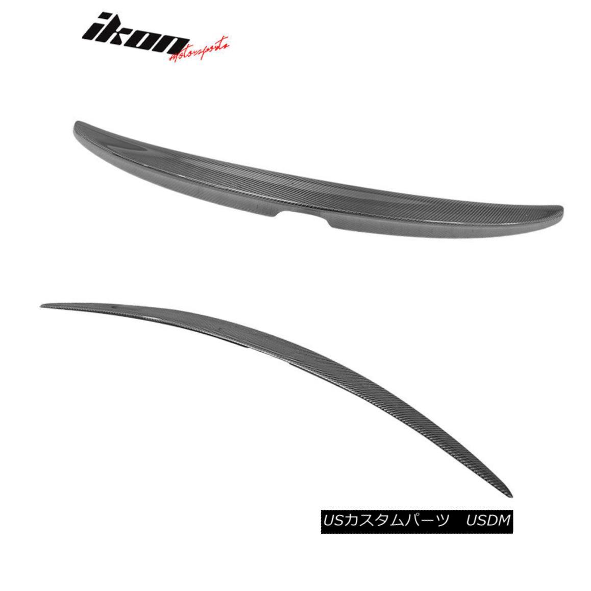 Fits 08-12 Honda Accord Coupe OE Factory CF Carbon Fiber Trunk Spoiler