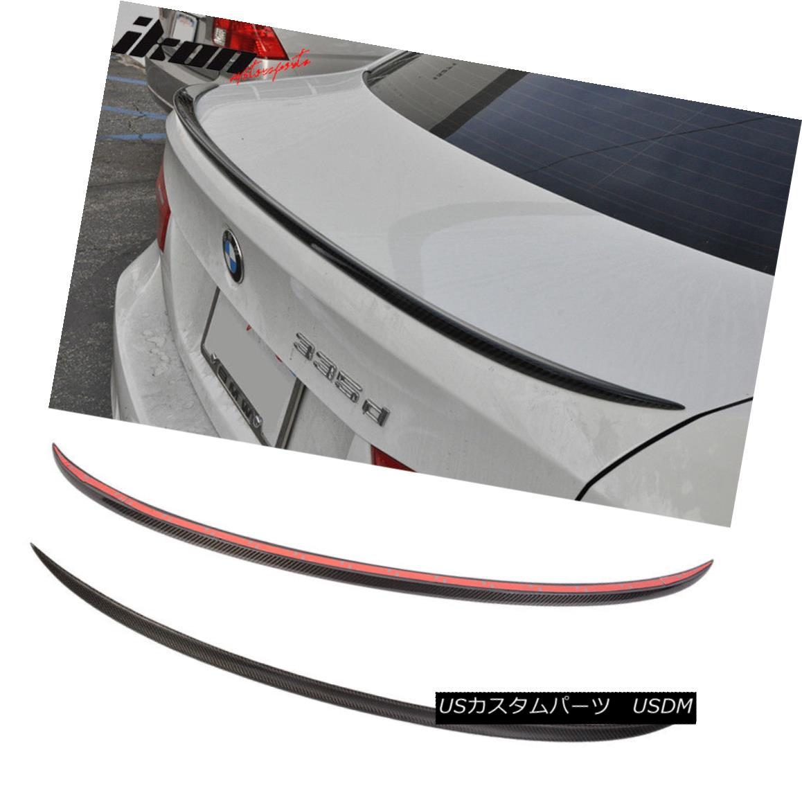 エアロパーツ Fits 05-11 BMW 3-Series E90 M3 CF Carbon Fiber Trunk Spoiler (CF) フィット05-11 BMW 3シリーズE90 M3 CF炭素繊維トランク・スポイラー(CF)