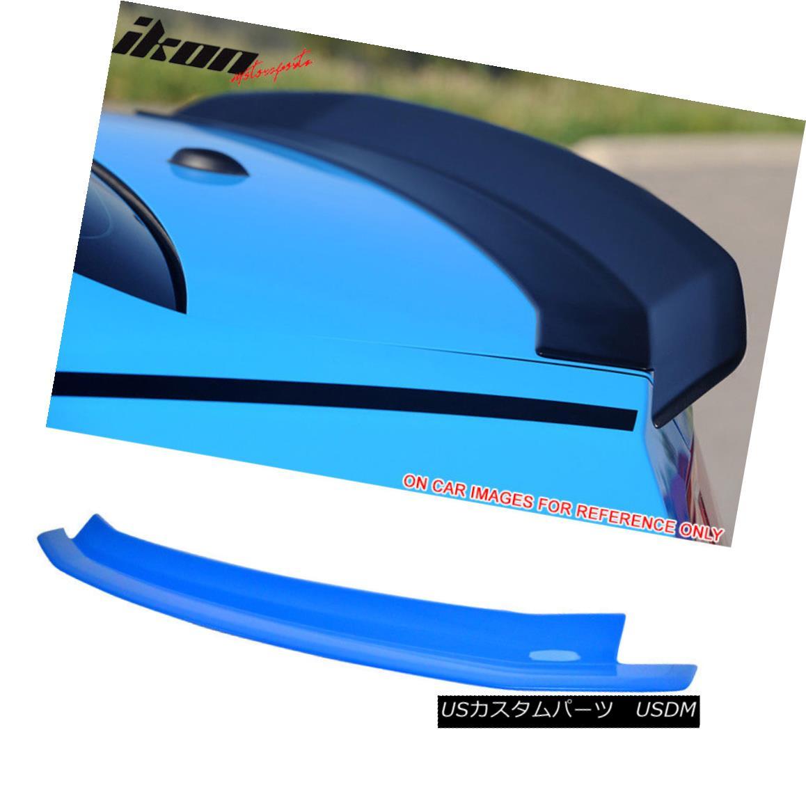 エアロパーツ Fit 10-14 Ford Mustang Trunk Spoiler Painted ABS # CI Grabber Blue フィット10?14フォードマスタングトランクスポイラー塗装ABS#CIグラバーブルー