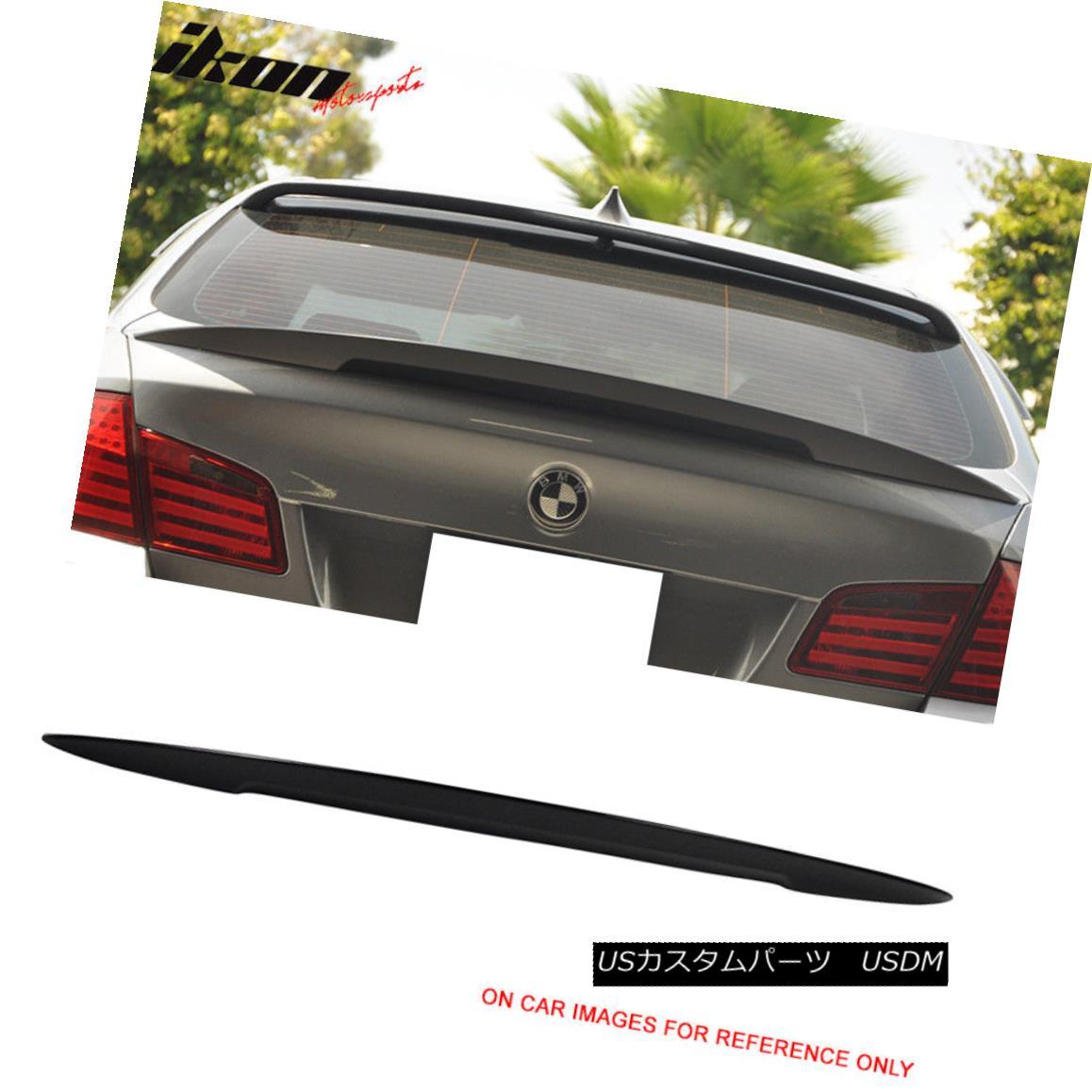 エアロパーツ Fits11-16 F10 High Kick Performance2 Trunk Spoiler Painted #668 Jet Black フィット11-16 F10ハイキックパフォーマンス2トランク・スポイラー#668ジェットブラック