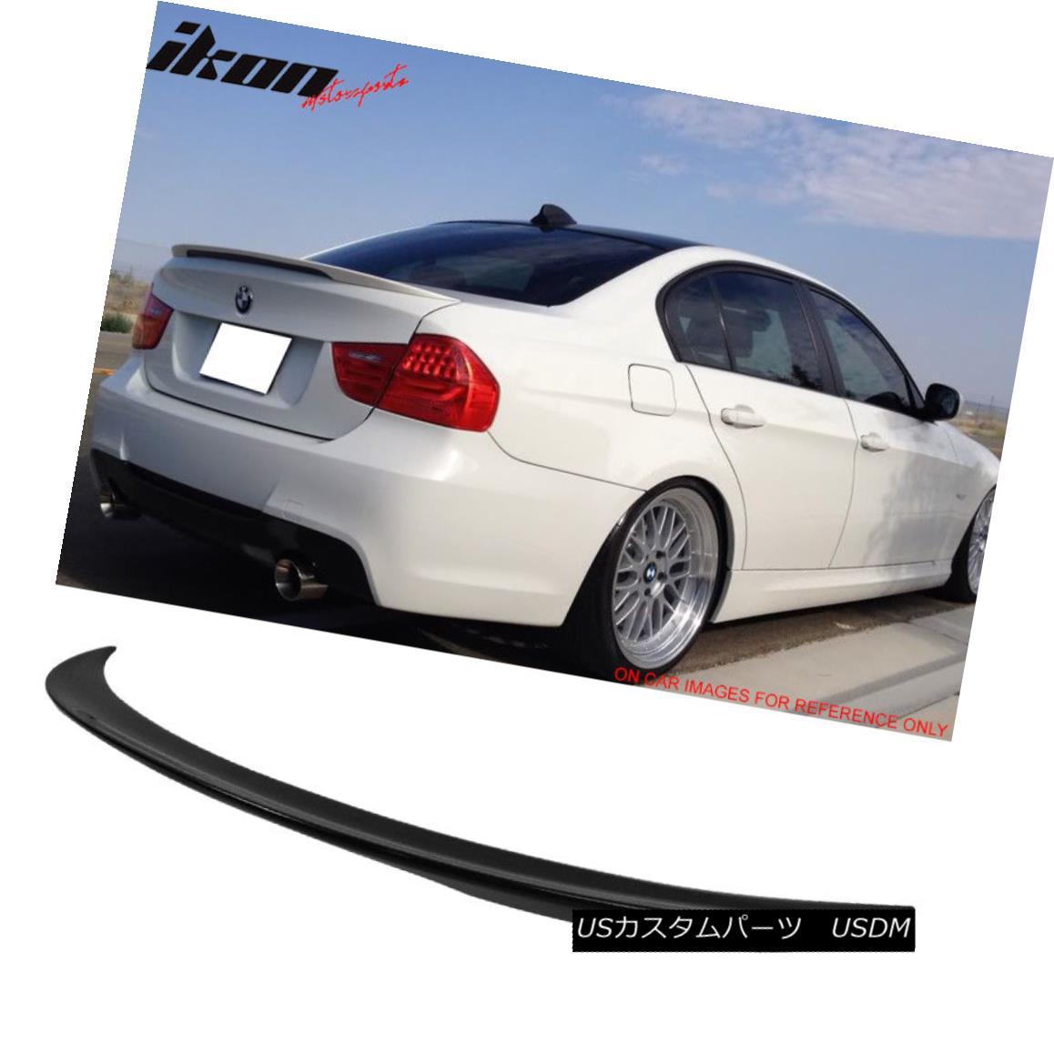 エアロパーツ 06-11 BMW 3 Series E90 Sedan Performance Painted Jet Black #668 Trunk Spoiler 06-11 BMW 3シリーズE90セダンパフォーマンスペイントジェットブラック#668トランクスポイラー