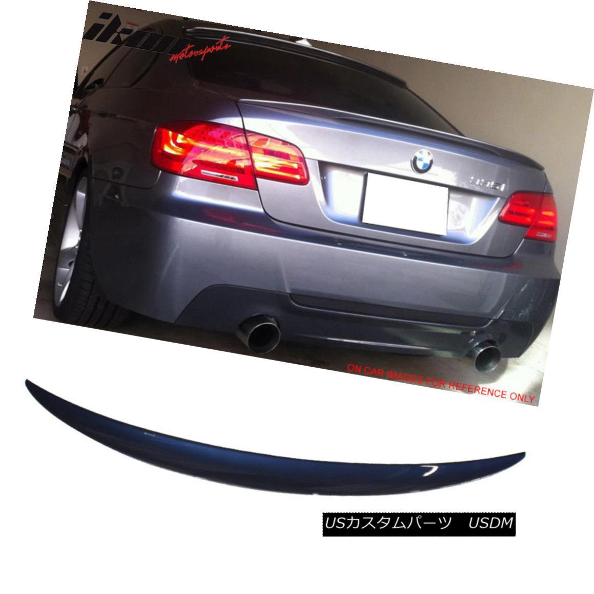 エアロパーツ Fits 07-13 E93 Performance Trunk Spoiler Painted #A76 Deep Sea Blue Metallic フィット07-13 E93パフォーマンストランク・スポイラー#A76ディープ・シー・ブルー・メタリック