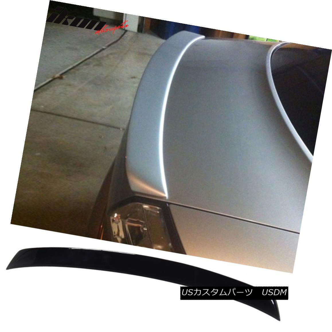 エアロパーツ Fits 02-05 Audi A4 B6 Sedan A Type Trunk Spoiler Painted #LY9B Brilliant Black フィット02-05アウディA4 B6セダンAタイプトランクスポイラー#LY9Bブリリアントブラック