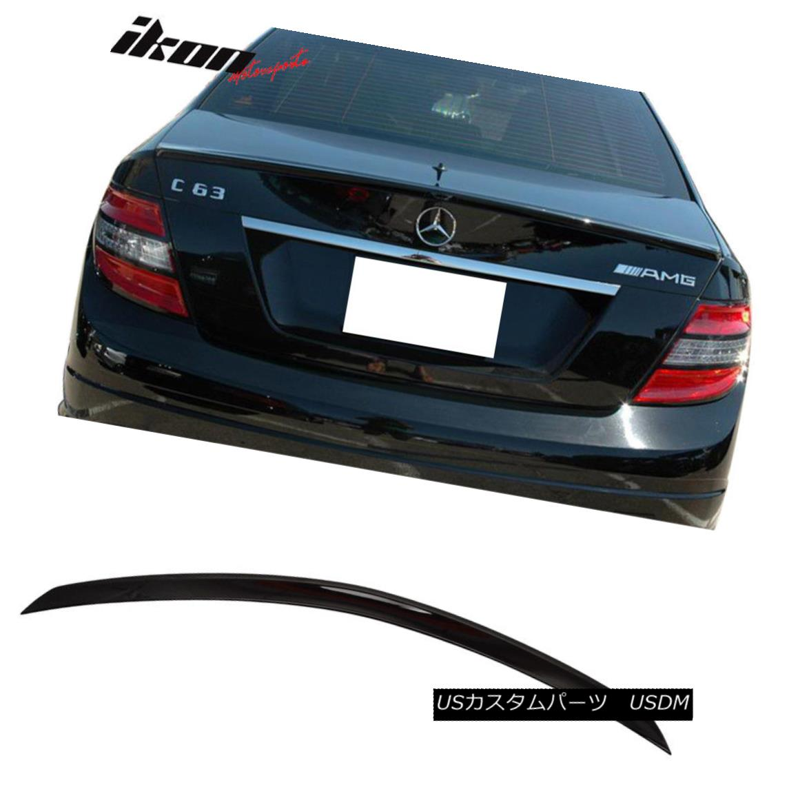 PAINTED MERCEDES BENZ C CLASS W203 C TYPE REAR TRUNK SPOILER 01-07 #040 Car Tuning & Styling Parts