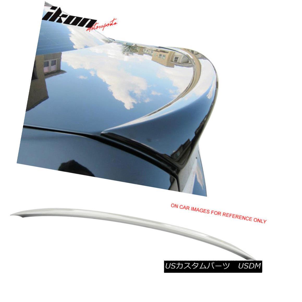 エアロパーツ Fits 06-11 E90 Sedan OE Factory Trunk Spoiler Painted #300 Alpine White III フィット06-11 E90セダンOE工場トランクスポイラー#300アルパインホワイトIIIを塗装