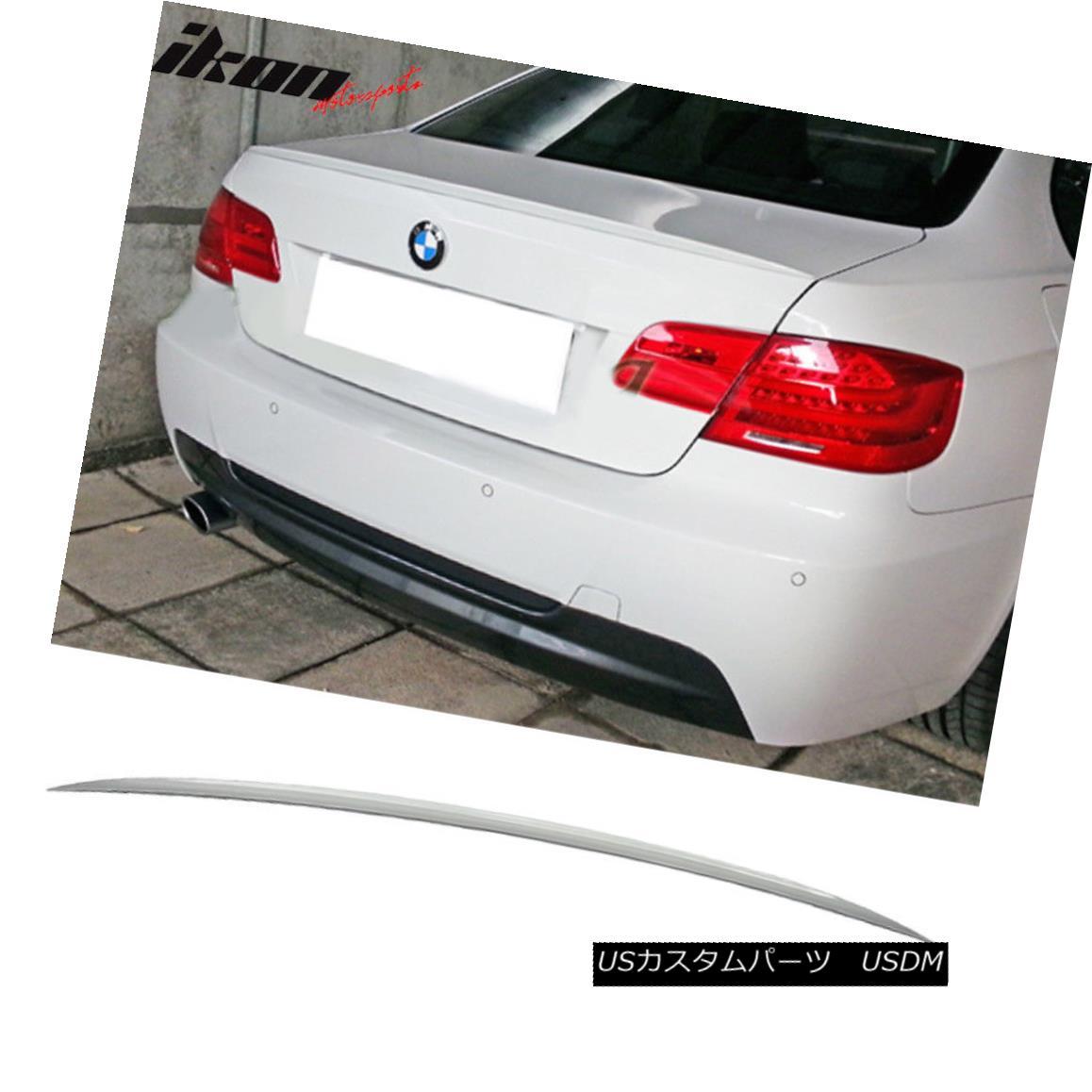 エアロパーツ Fits 07-13 BMW 3 Series E92 Coupe M3 Trunk Spoiler Painted #A52 Space Gray フィット07?13 BMW 3シリーズE92クーペM3トランク・スポイラー#A52スペース・グレー