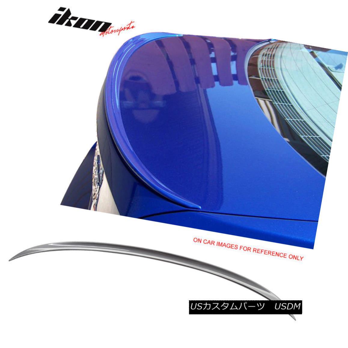 エアロパーツ Fits 06-11 3-Series E90 Sedan M3 Trunk Spoiler Painted #A22 Sparkling Graphite フィット06-11 3シリーズE90セダンM3トランクスポイラー#A22スパークリンググラファイト