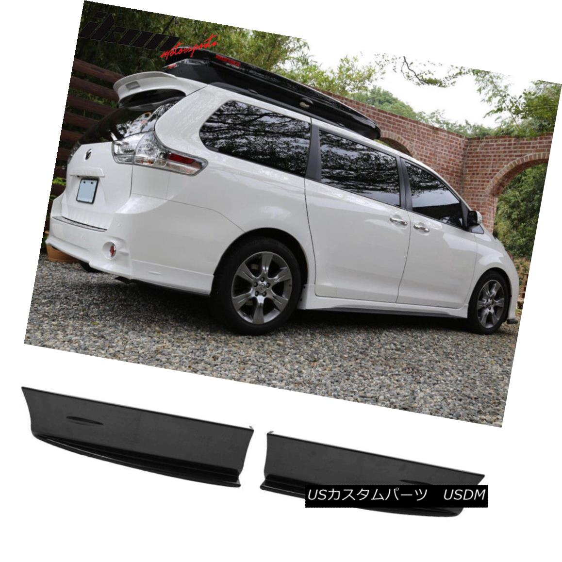 For 2004 05 06 07 08 09 2010 Toyota Sienna Factory Style Spoiler UNPAINTED