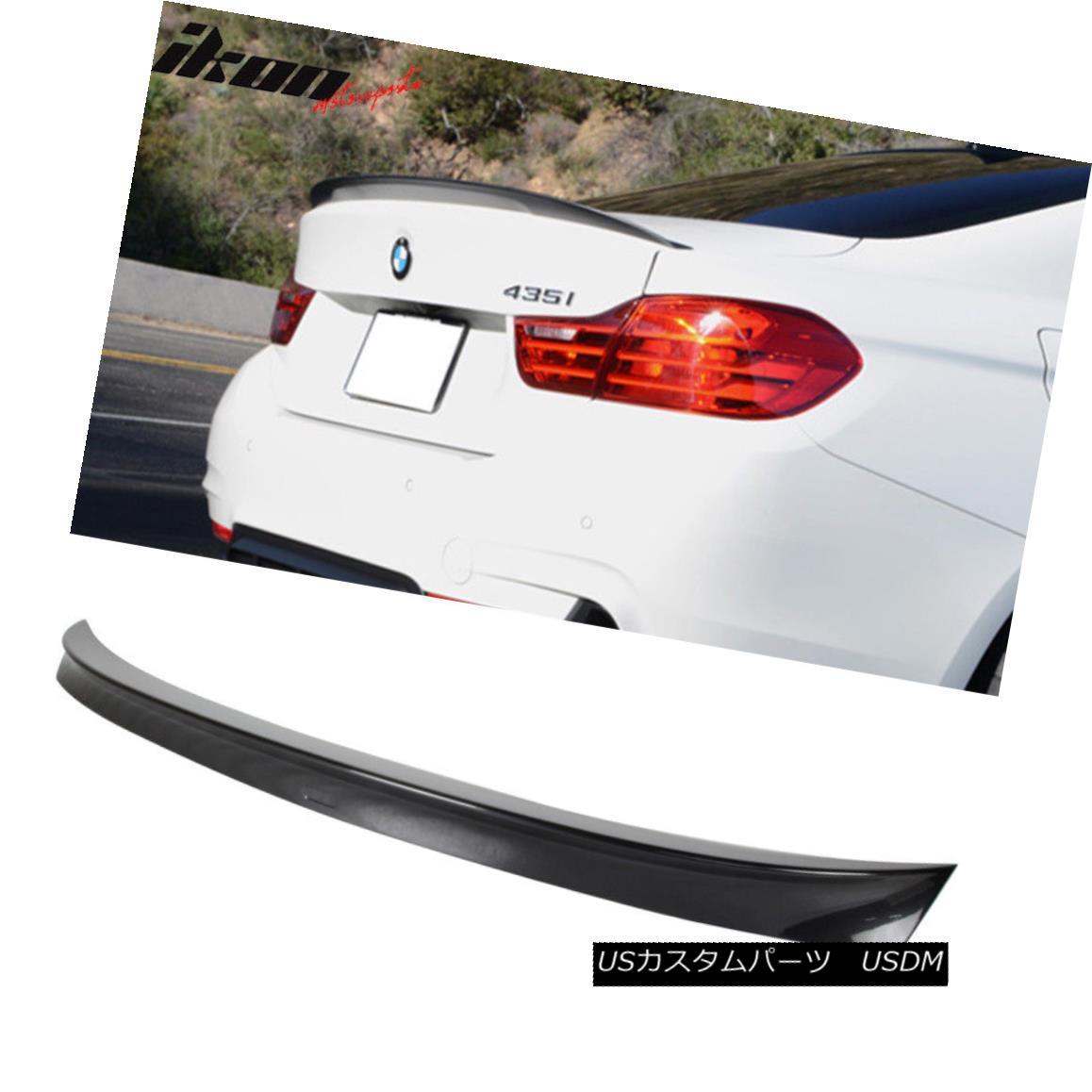 エアロパーツ Fit 14-17 F32 Coupe Performance Trunk Spoiler Painted #B39 Mineral Gray Metallic フィット14-17 F32クーペパフォーマンストランク・スポイラー#B39ミネラル・グレー・メタリック