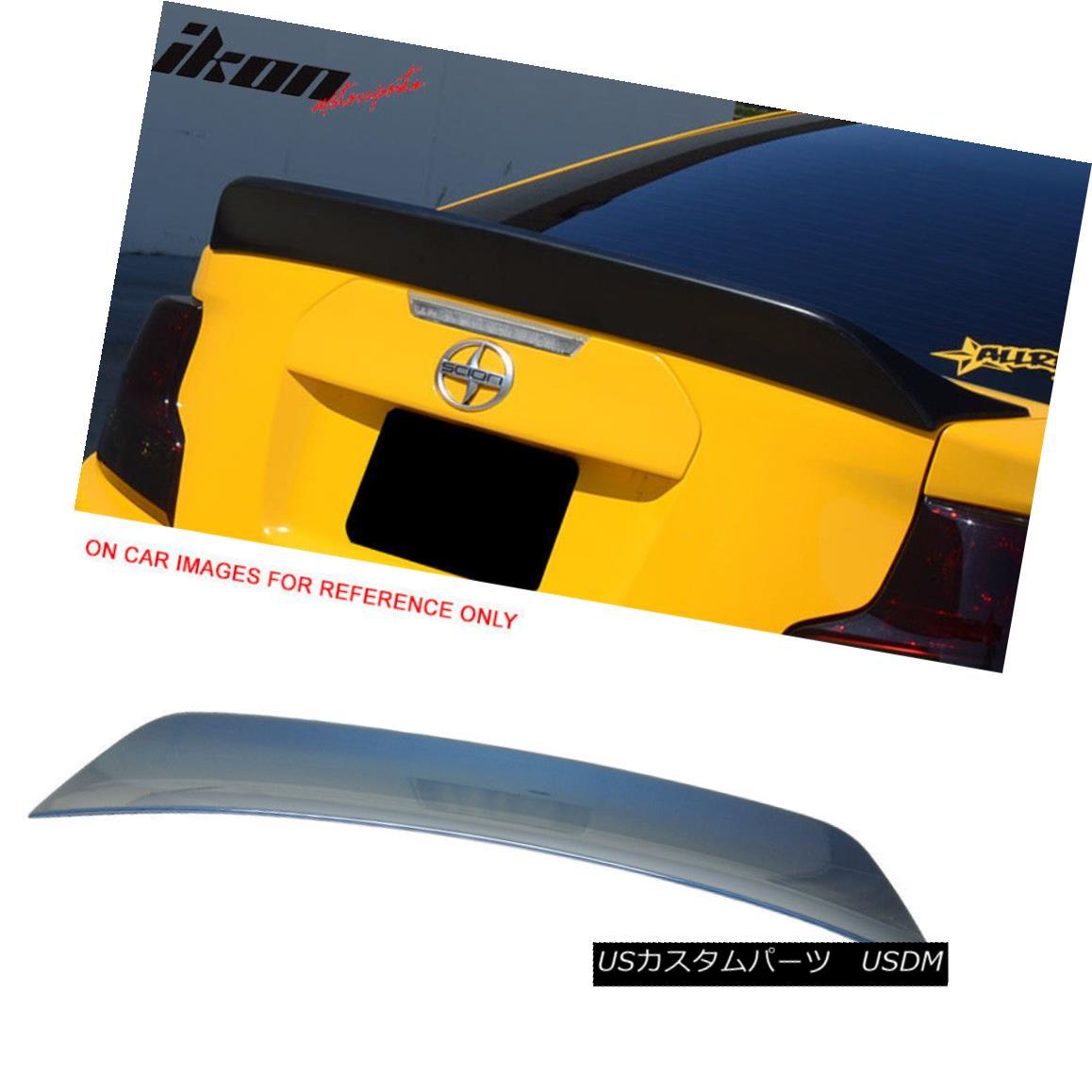 エアロパーツ 11-15 TC RS Style Painted # 8S6 Nautical Blue Metallic Trunk Spoiler - ABS 11-15 TC RSスタイルペイント#8S6海洋ブルーメタリックトランクスポイラー - ABS